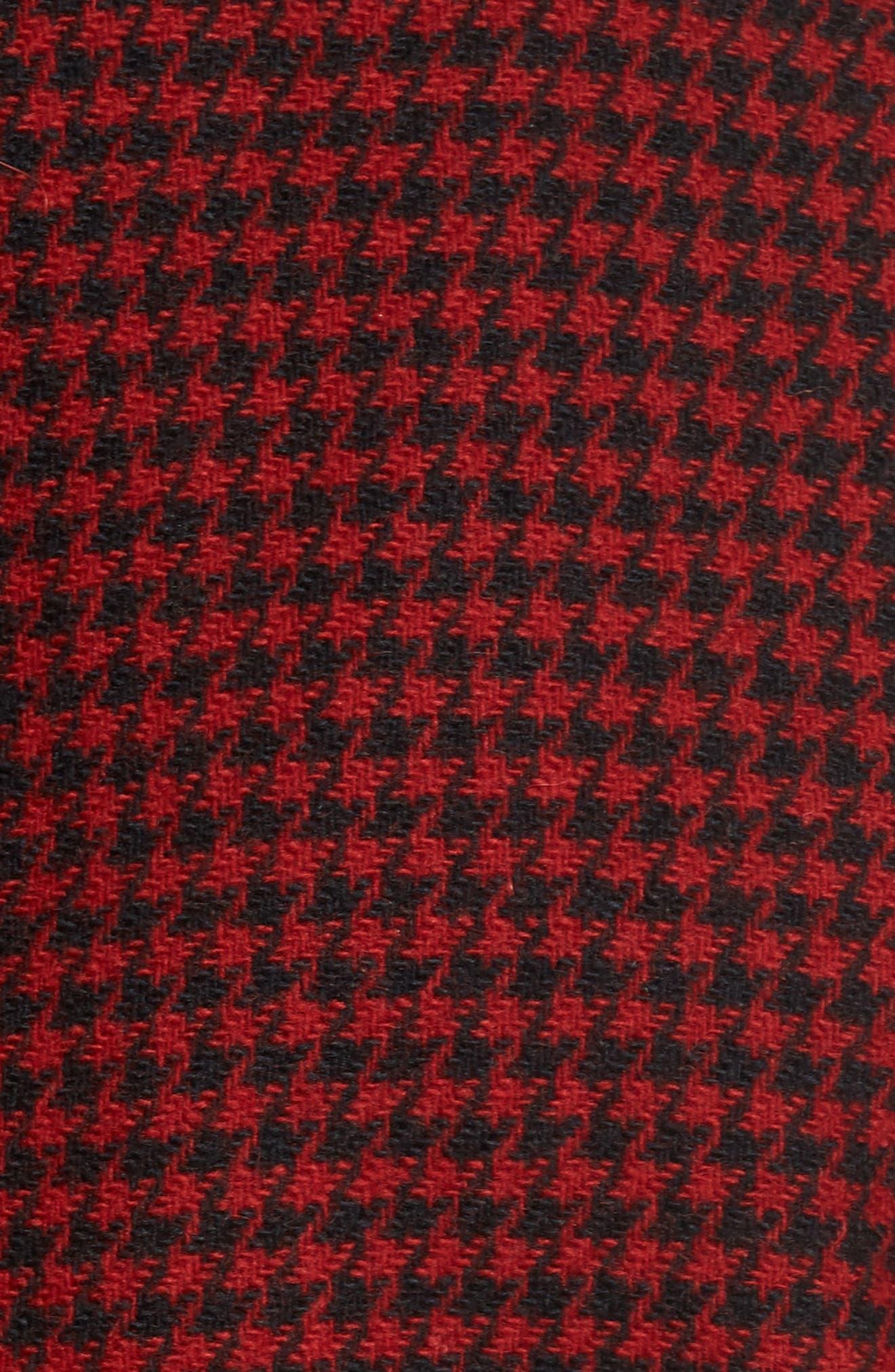 Northwest Houndstooth Shirt Jacket,                             Alternate thumbnail 5, color,                             645