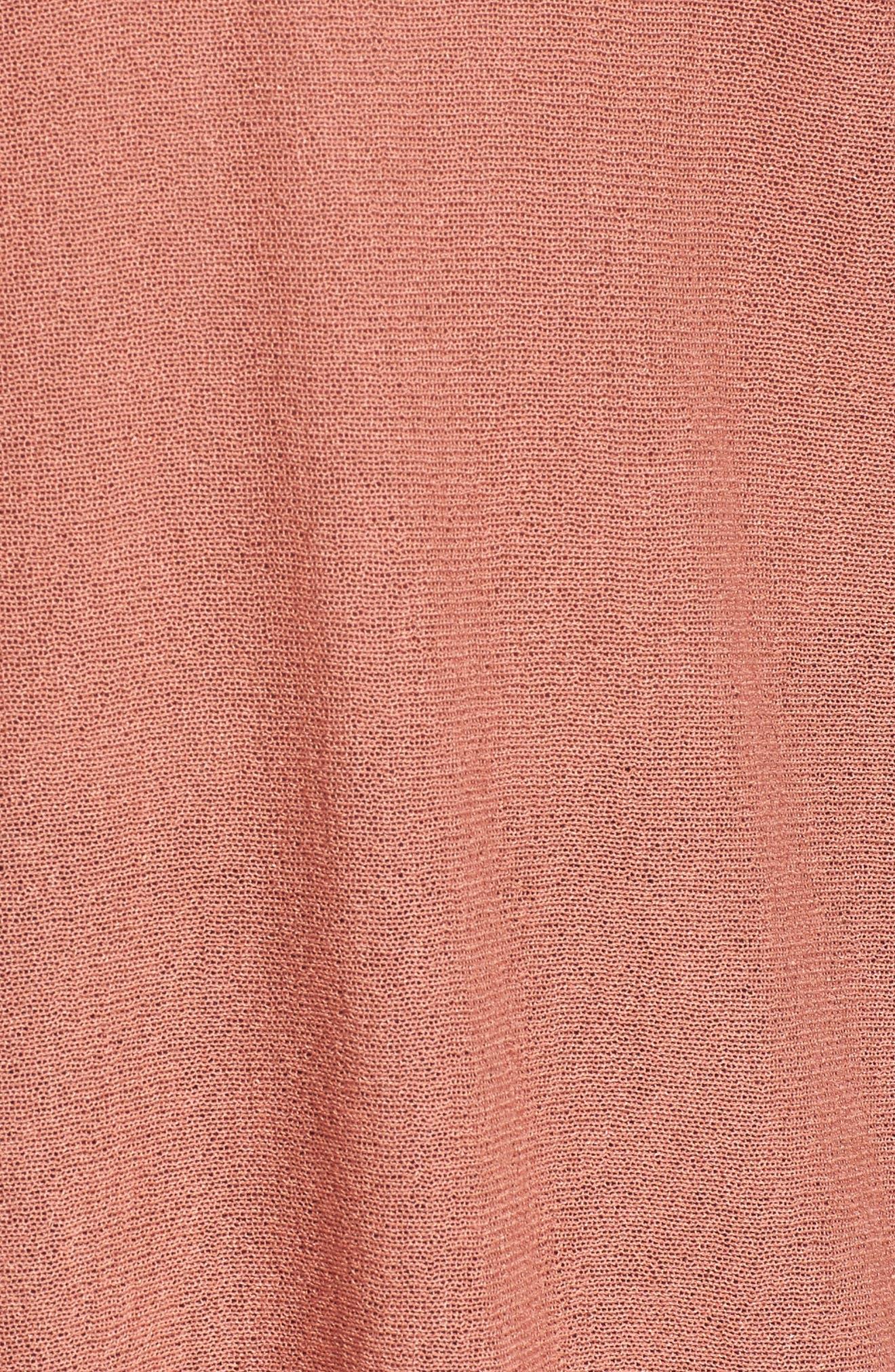 Double V-Neck Sweater,                             Alternate thumbnail 15, color,