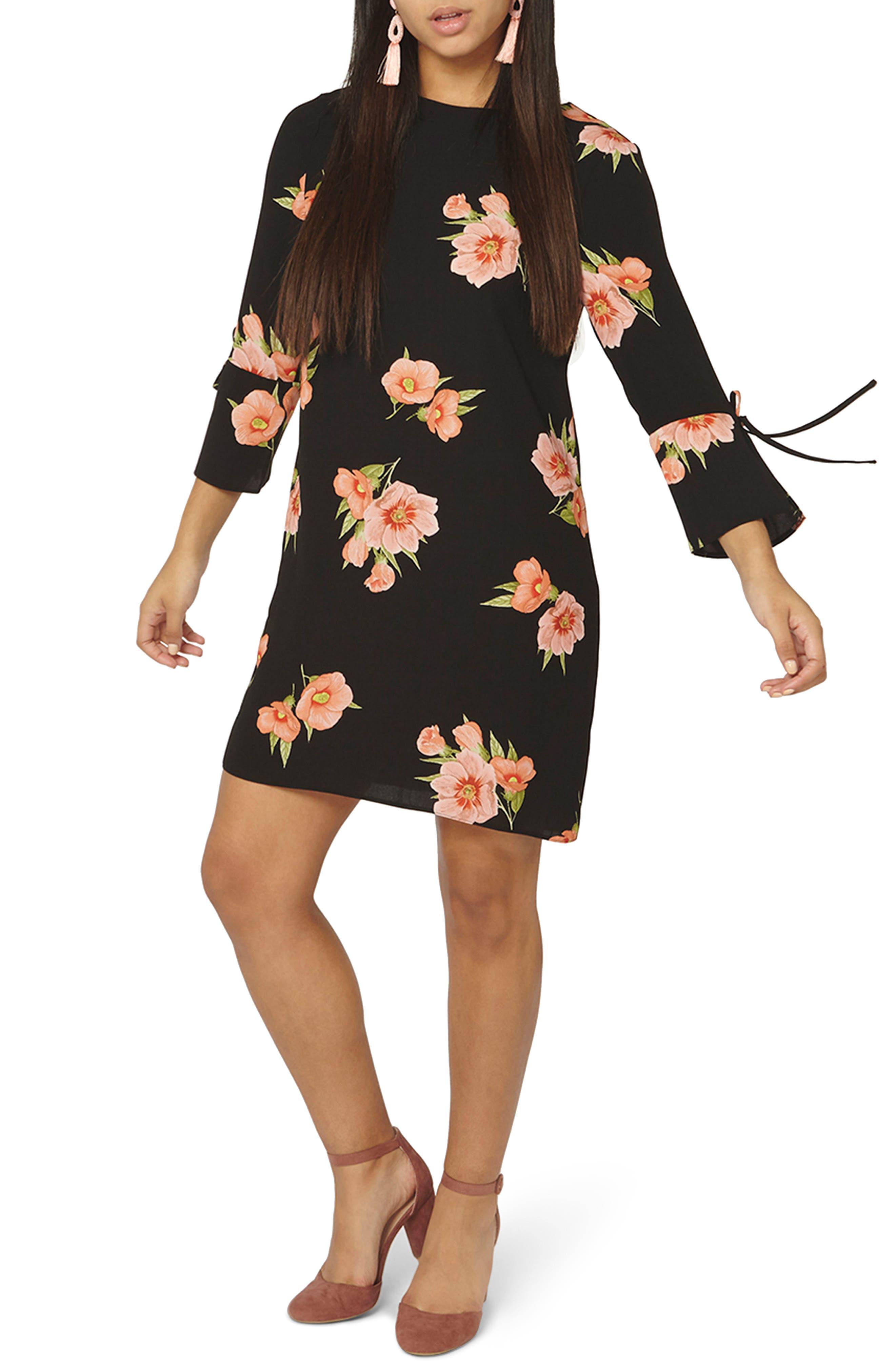 Dalia Shift Dress,                         Main,                         color, 001
