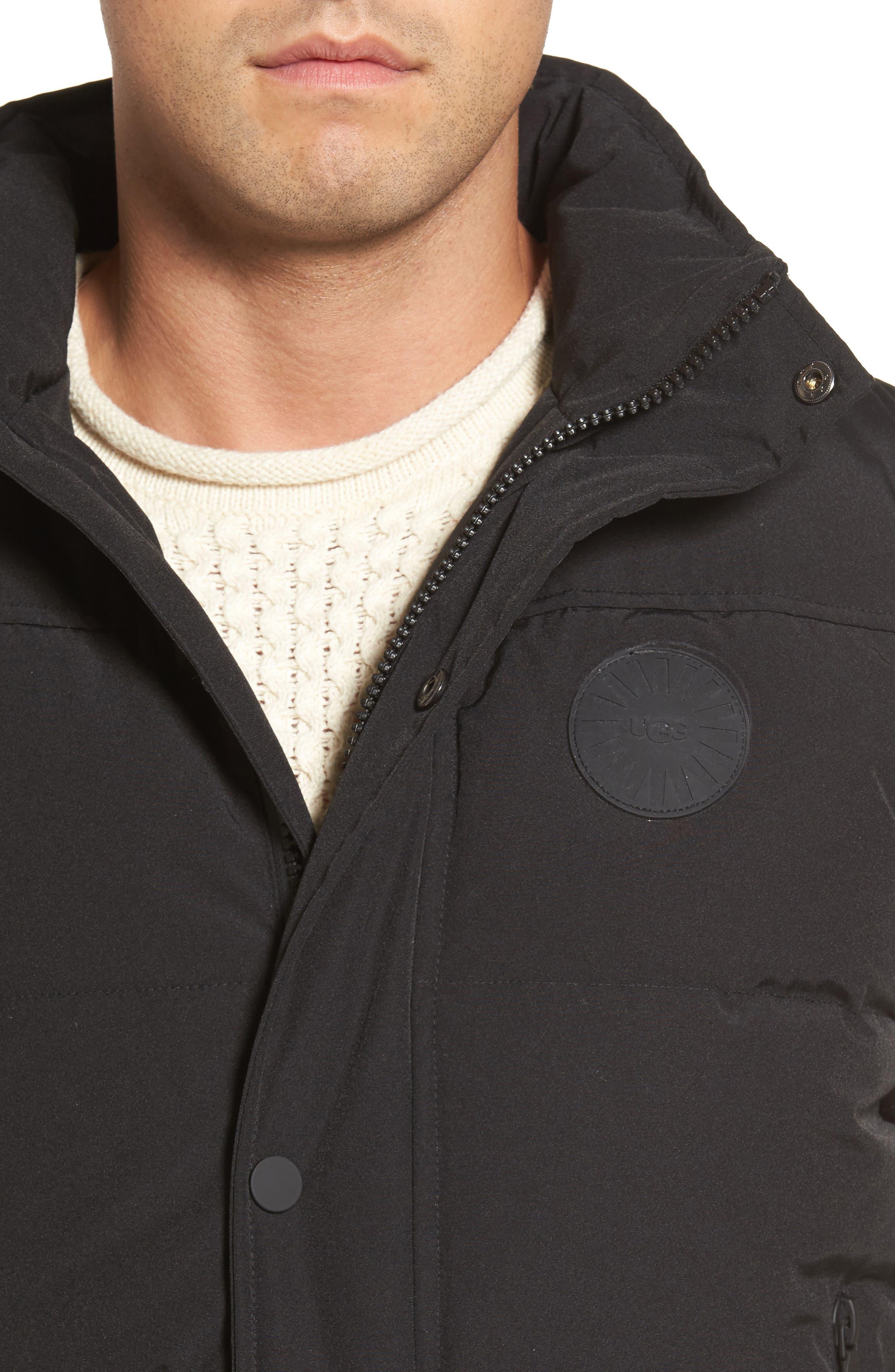 Water-Resistant Down Vest,                             Alternate thumbnail 4, color,                             001