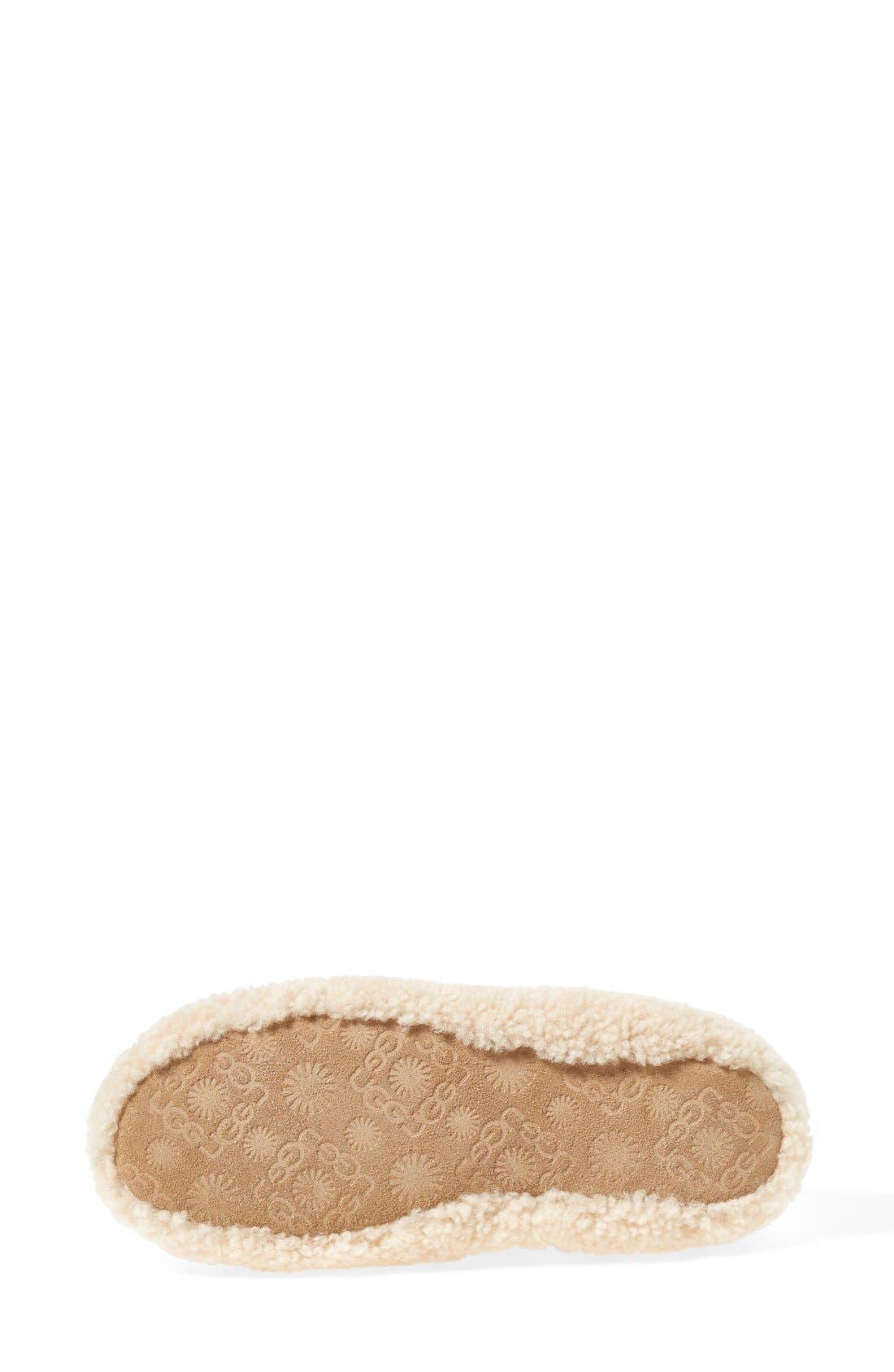 Birche Slipper,                             Alternate thumbnail 4, color,                             NATURAL
