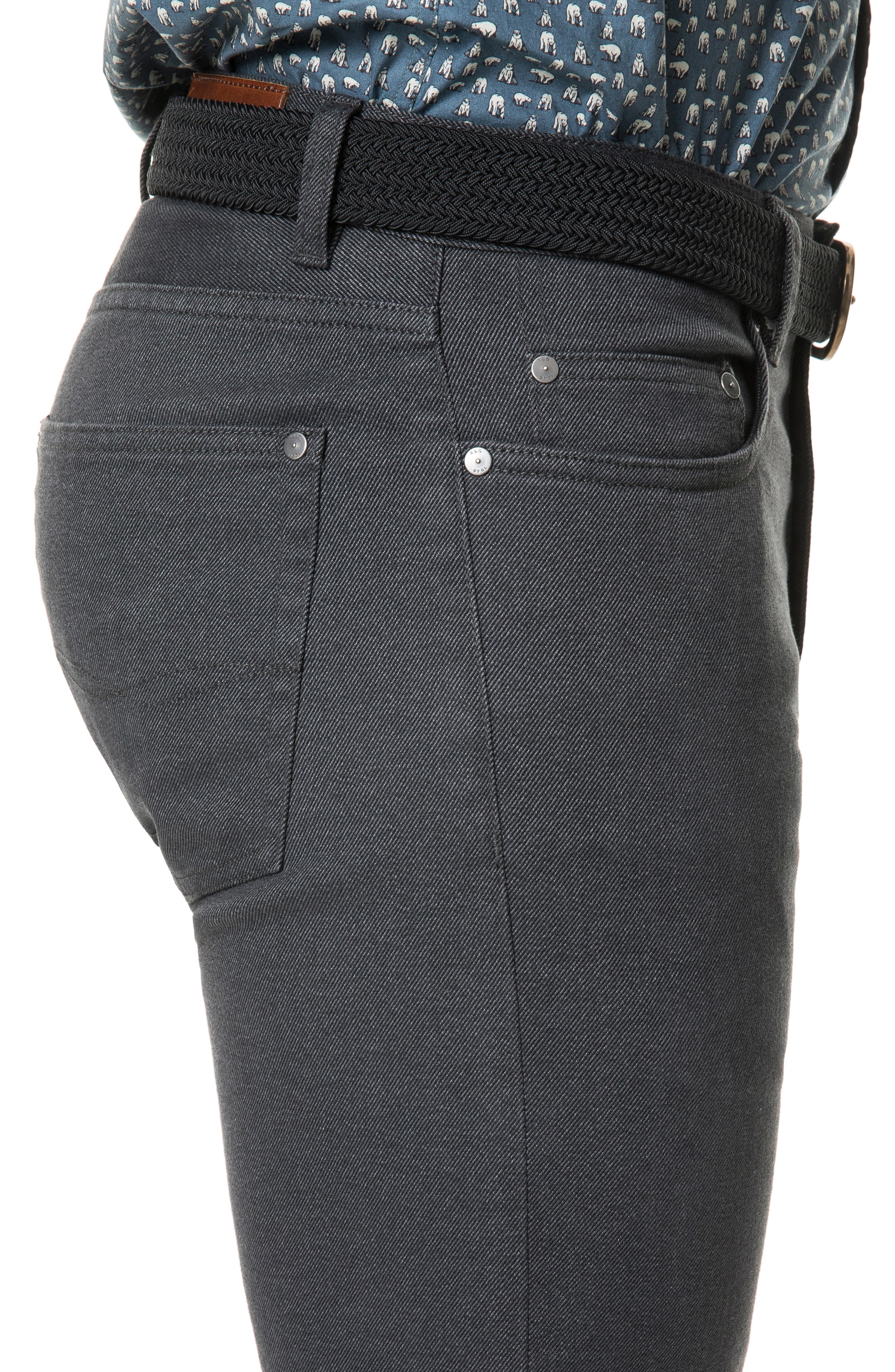 Adams Straight Leg Jeans,                             Alternate thumbnail 3, color,                             SLATE