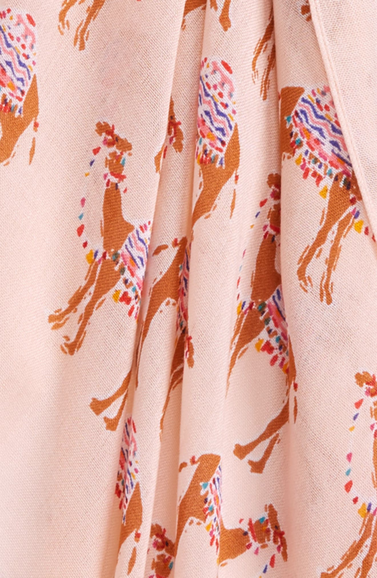 camel march scarf,                             Alternate thumbnail 3, color,                             666