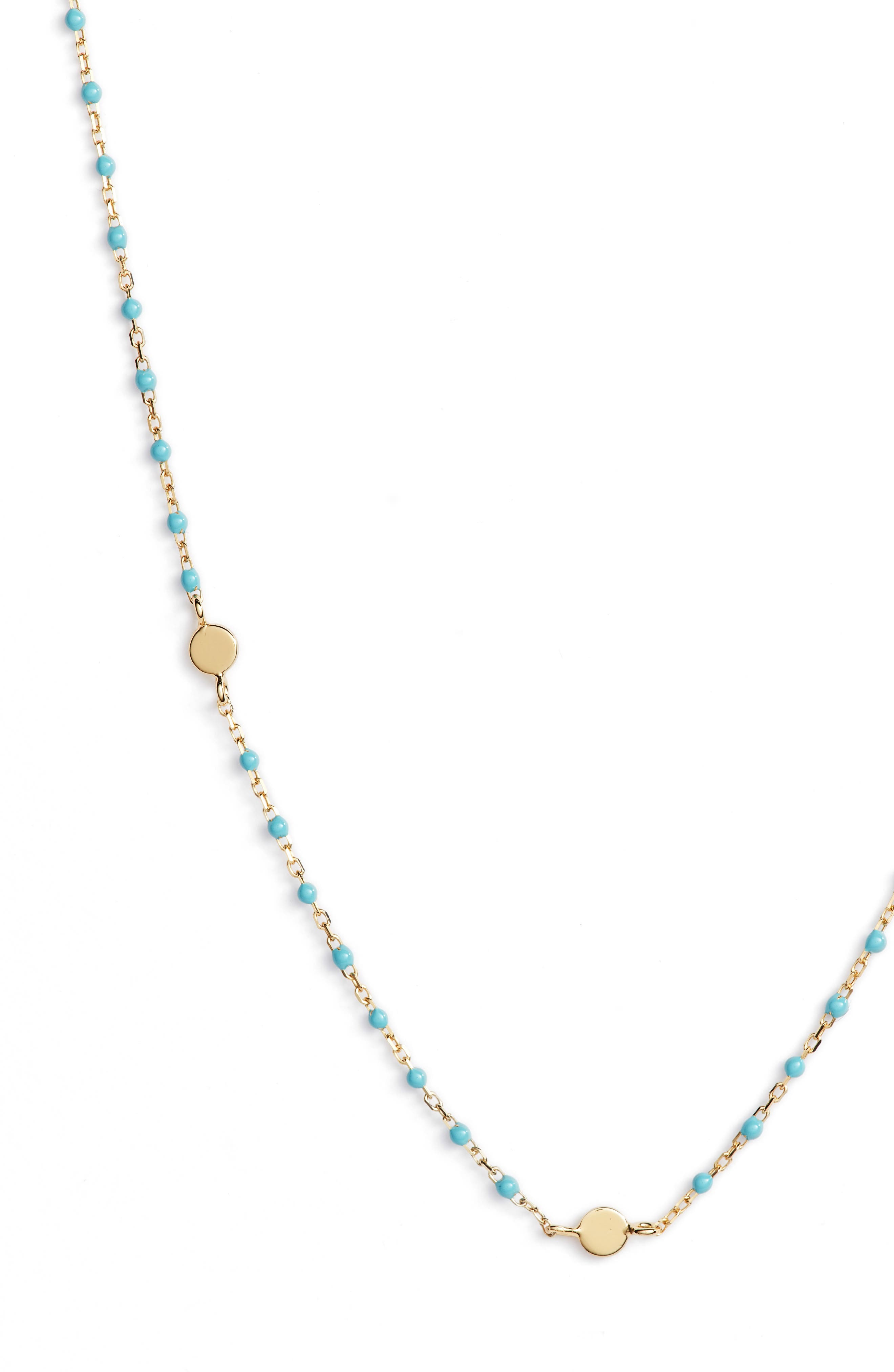 Beaded Station Necklace,                             Alternate thumbnail 8, color,