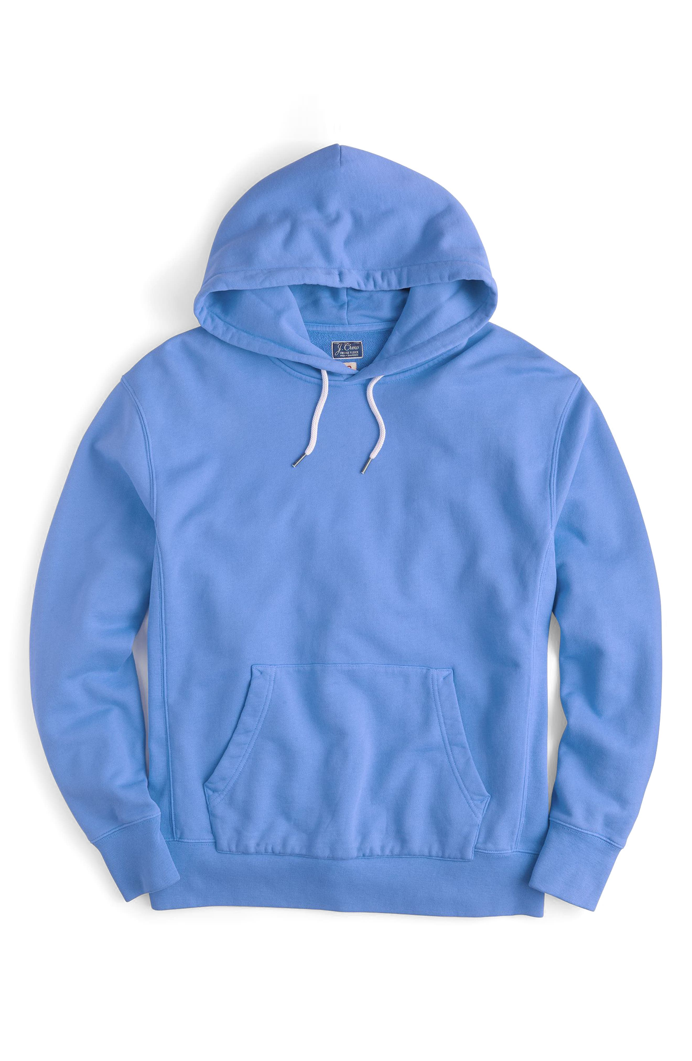 Garment Dyed French Terry Hoodie,                             Main thumbnail 4, color,