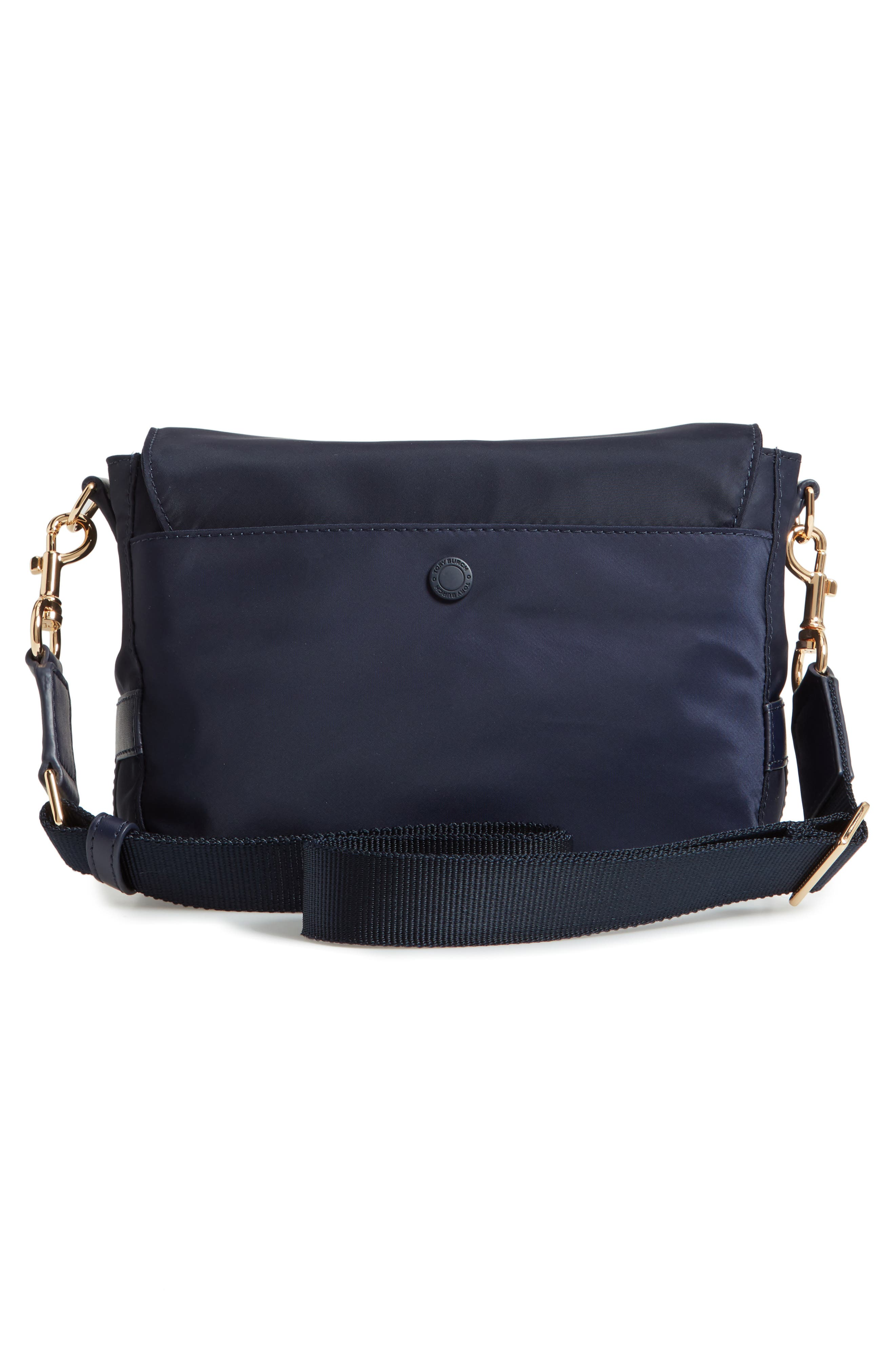 Tilda Nylon Crossbody Bag,                             Alternate thumbnail 4, color,                             400