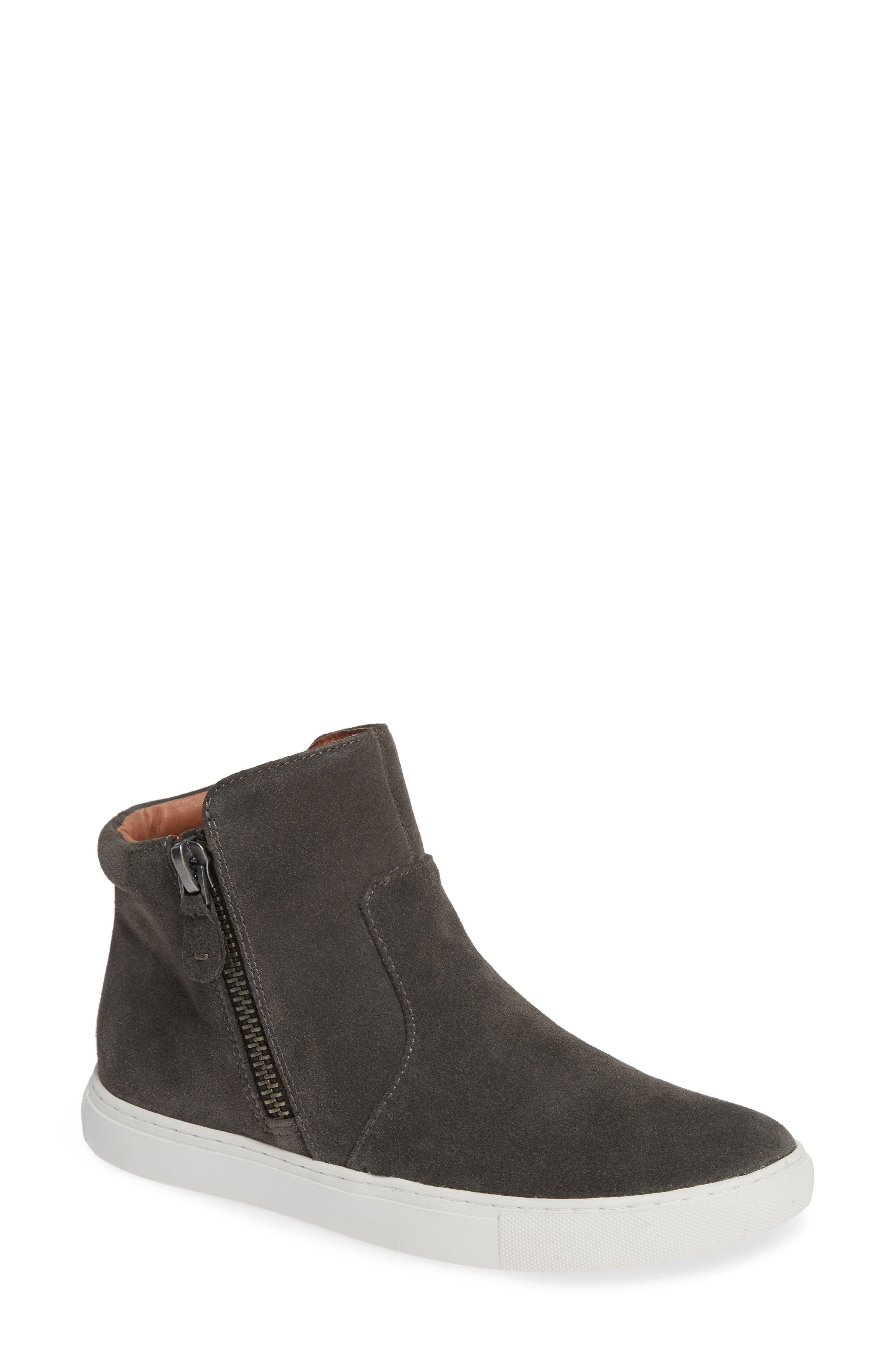 by Kenneth Cole Carter Bootie,                             Main thumbnail 1, color,                             GREY SUEDE