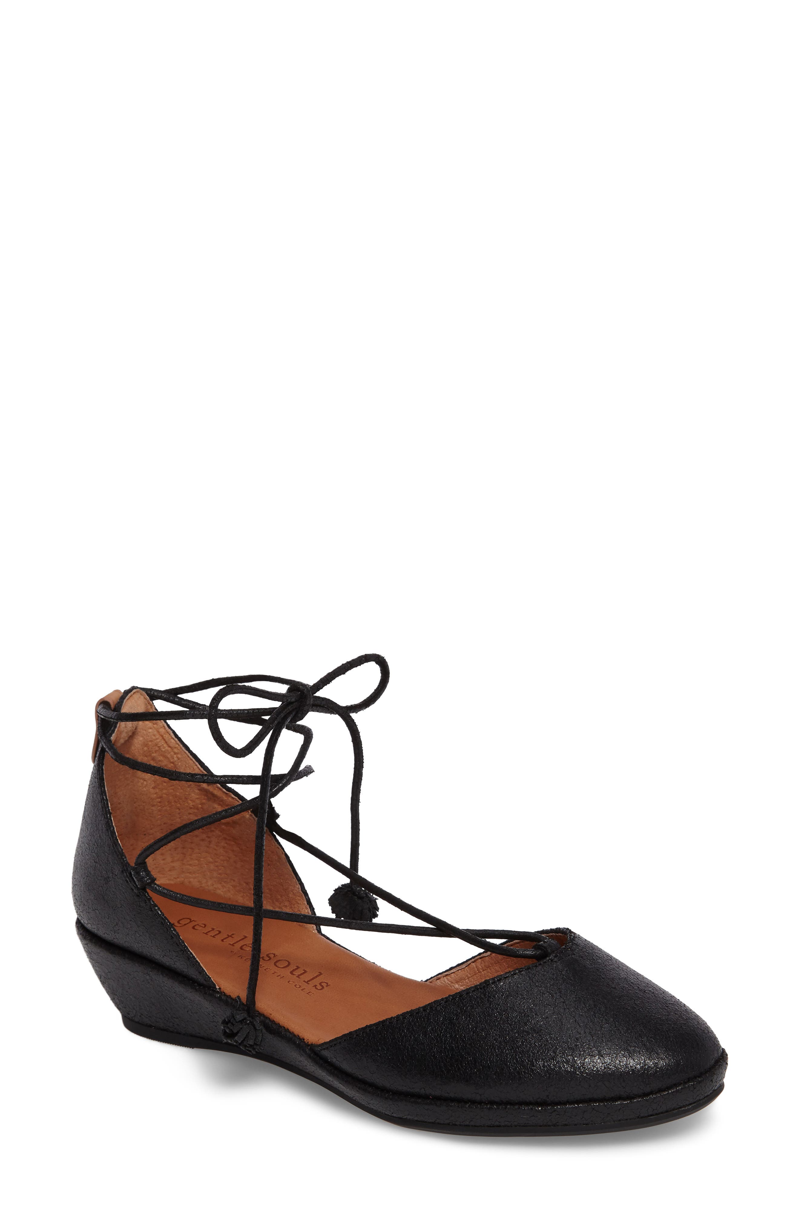 Nerissa Ghillie Wedge,                         Main,                         color, 001