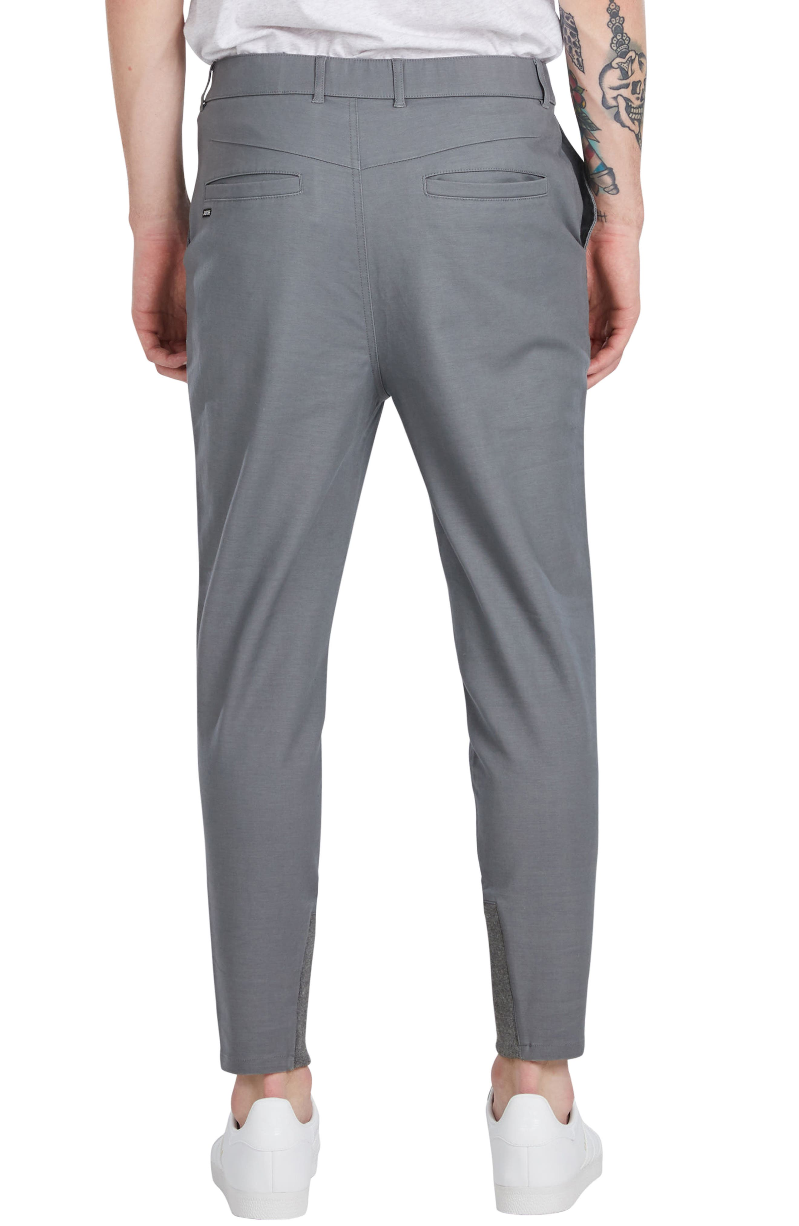'Sharpshot' Slouchy Skinny Fit Chinos,                             Alternate thumbnail 6, color,