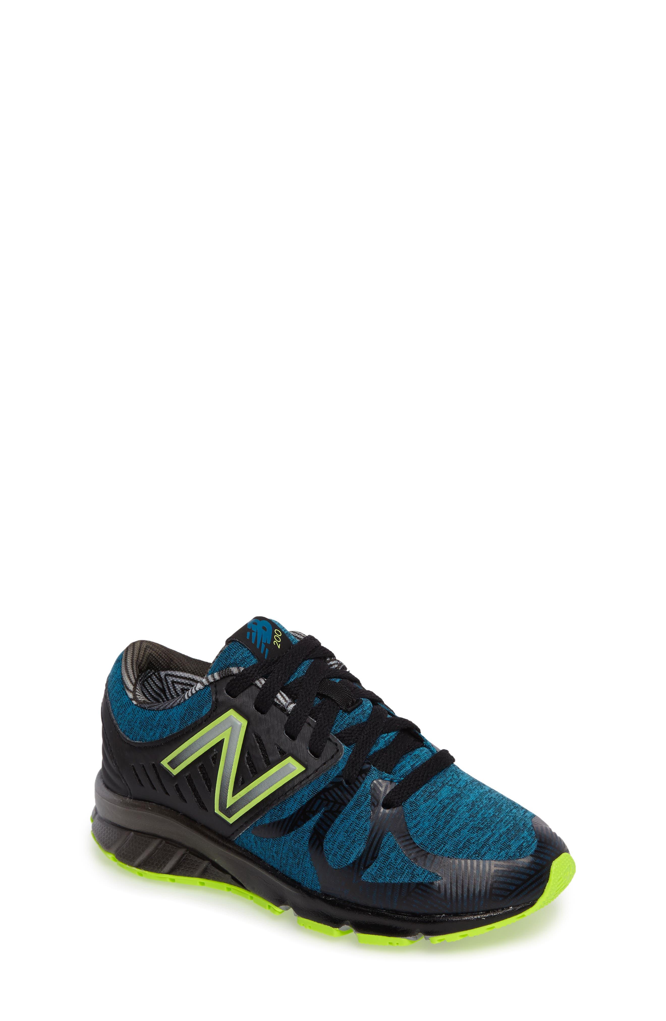 200 Electric Rainbow Athletic Shoe,                             Main thumbnail 1, color,                             407