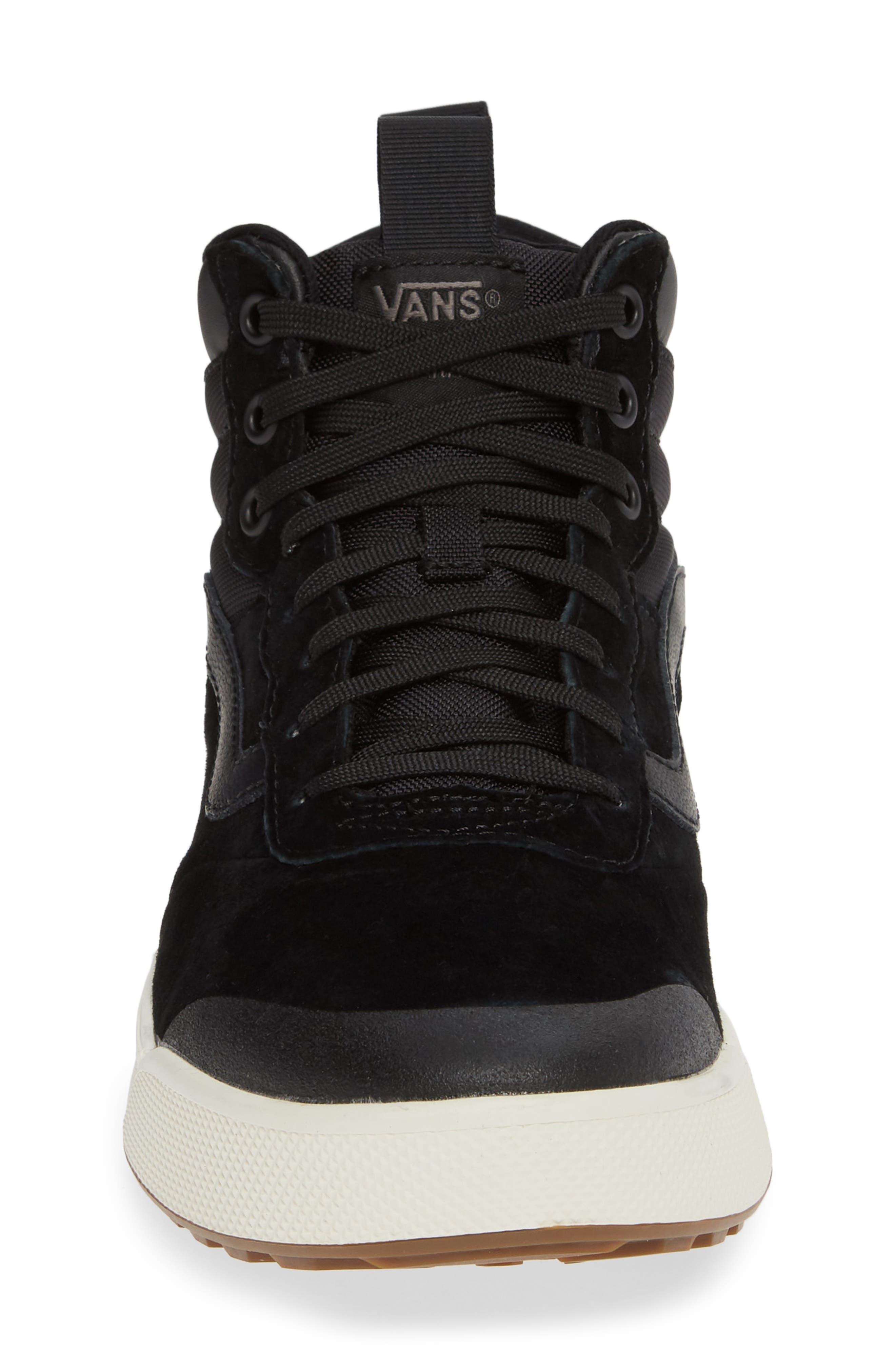 Ultrarange Hi Sneaker,                             Alternate thumbnail 4, color,                             BLACK