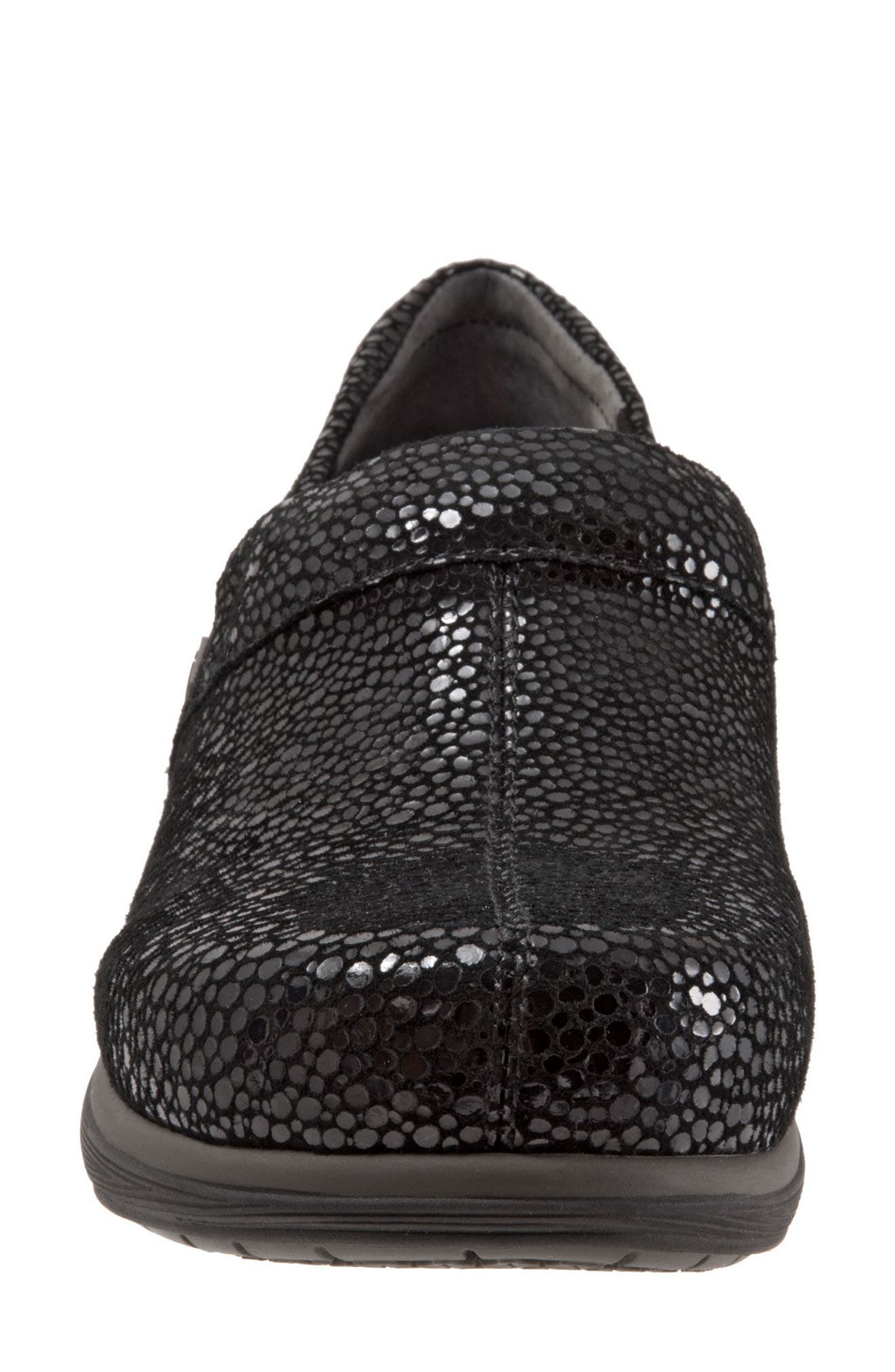 Grey's Anatomy<sup>®</sup> by Softwalk<sup>®</sup> 'Meredith' Leather Clog,                             Alternate thumbnail 4, color,                             004