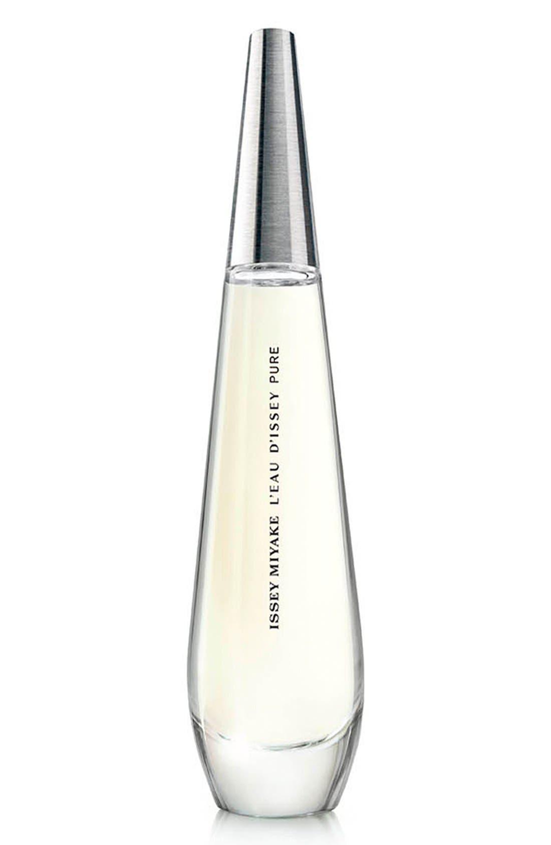 'L'Eau d'Issey Pure' Eau de Parfum Spray,                             Main thumbnail 1, color,                             NO COLOR