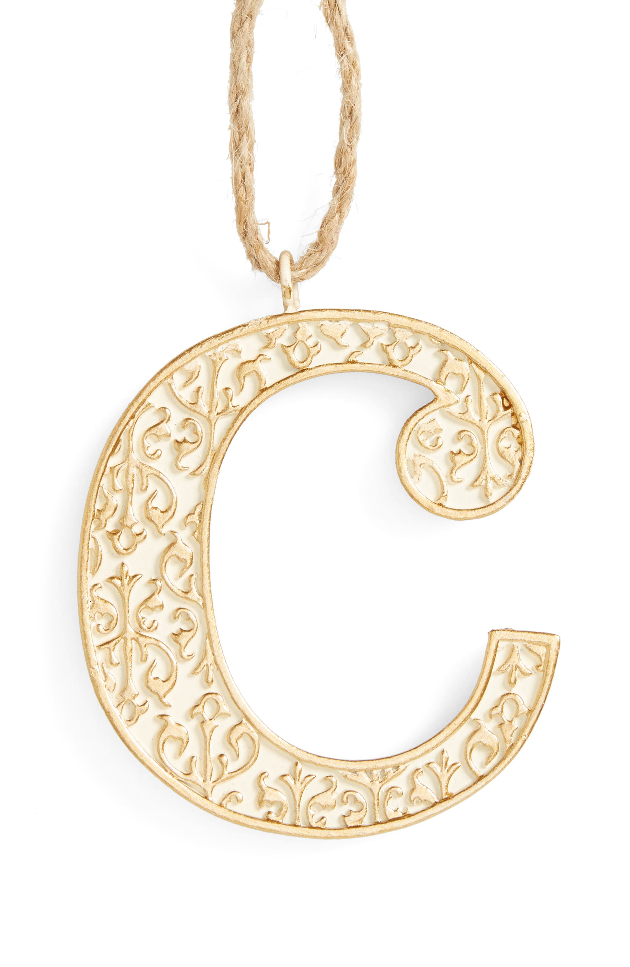 Letter Ornament,                             Main thumbnail 3, color,