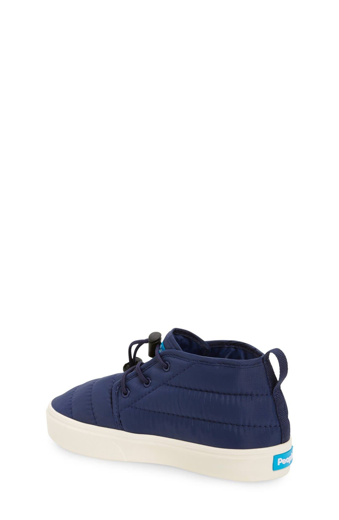 'Cypress' Sneaker,                             Alternate thumbnail 4, color,                             MARINER BLUE/ PICKET WHITE