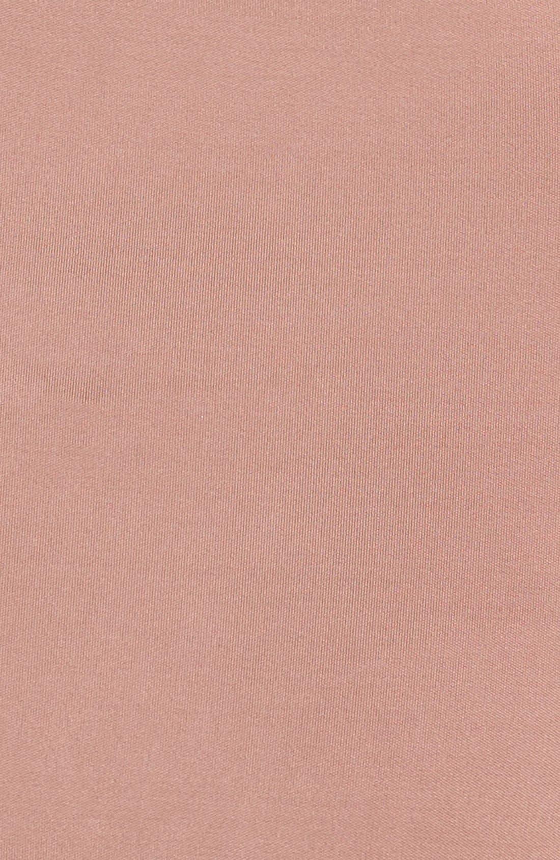 One-Shoulder Twist Gown,                             Alternate thumbnail 6, color,                             DUNE