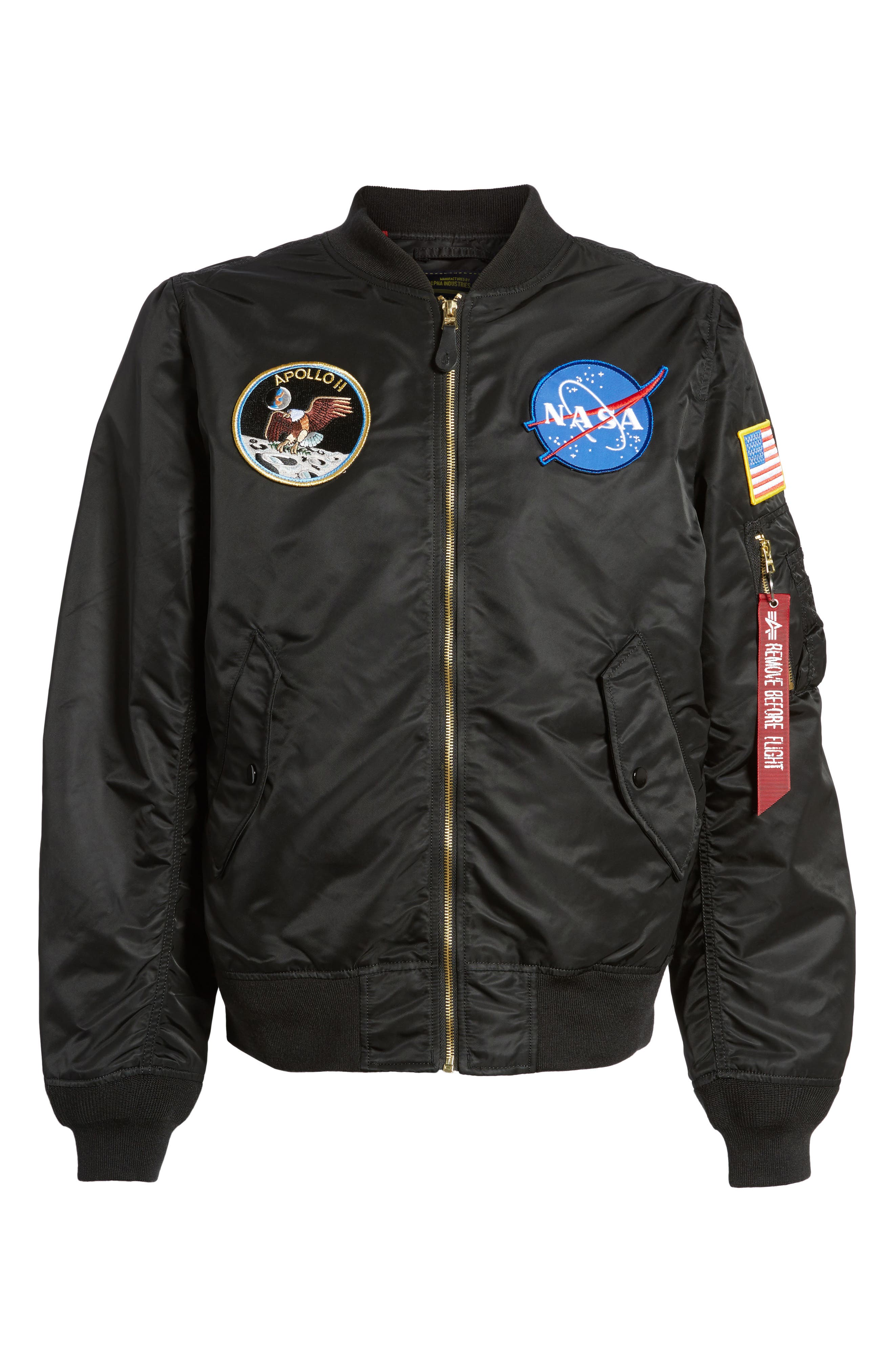 L-2B Apollo Bomber Jacket,                             Alternate thumbnail 5, color,