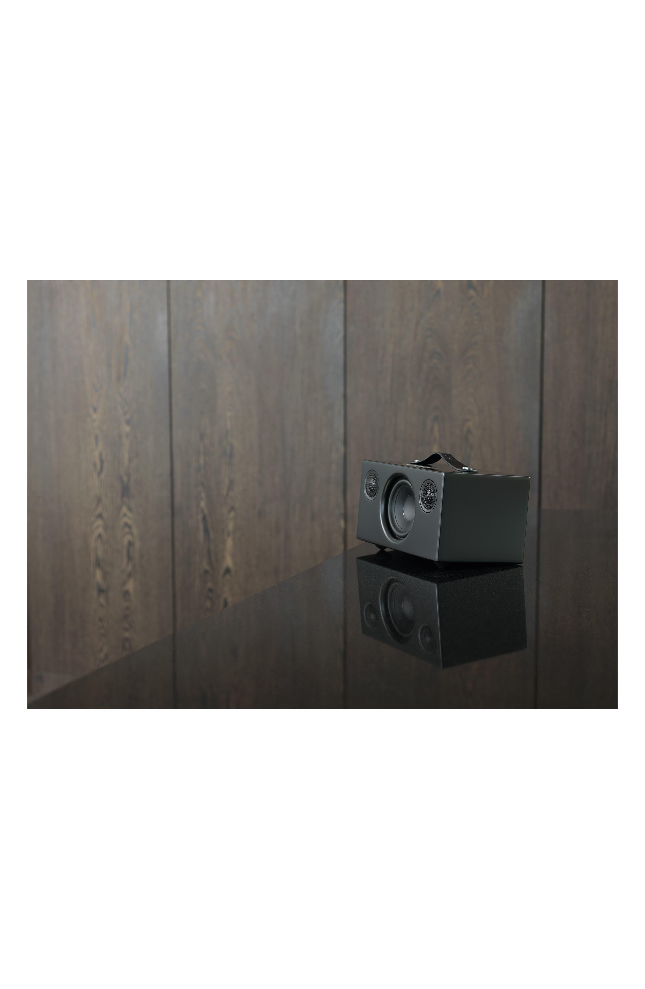 Addon C5 Wi-Fi Multi Room Bluetooth<sup>®</sup> Speaker,                             Alternate thumbnail 7, color,                             COAL BLACK