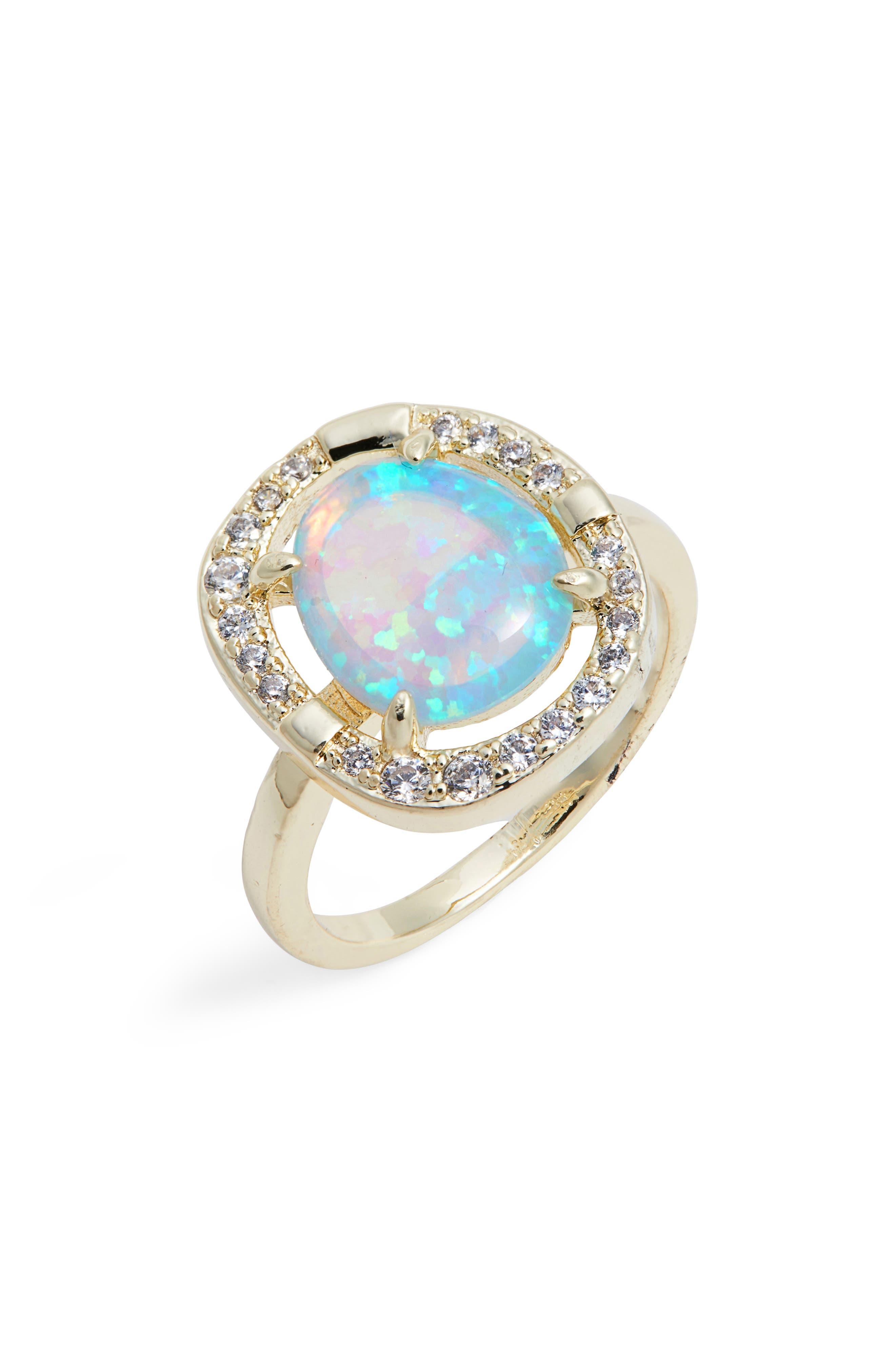 Elizabeth Opal Ring,                         Main,                         color,