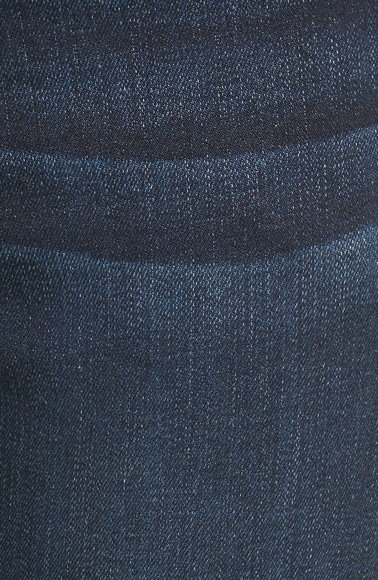 Ali High Waist Ankle Skinny Jeans,                             Alternate thumbnail 5, color,