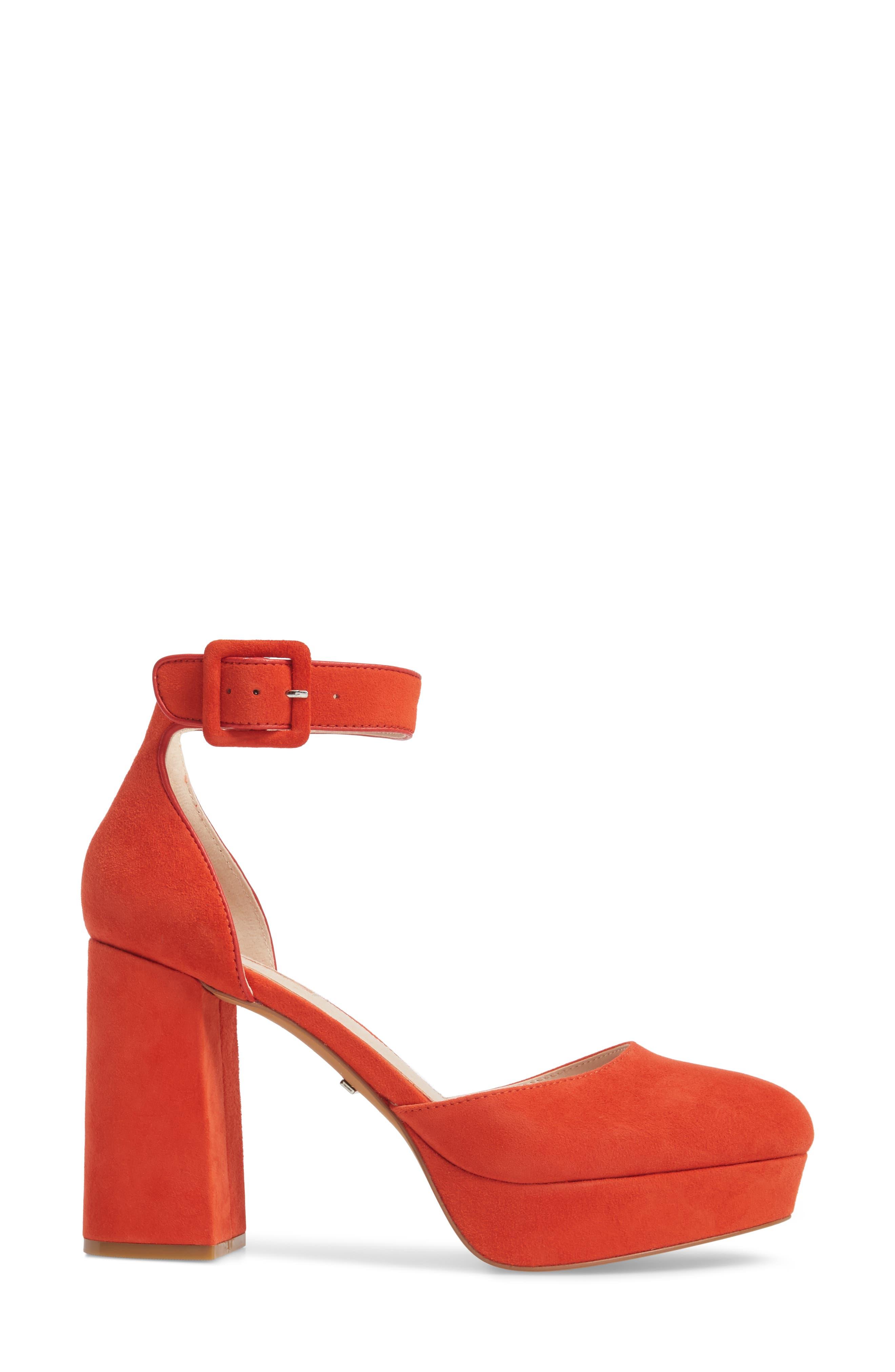 Ankle Strap Platform Sandal,                             Alternate thumbnail 6, color,
