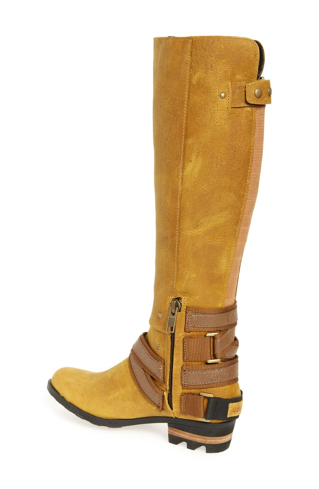 Lolla Water Resistant Tall Boot,                             Alternate thumbnail 6, color,