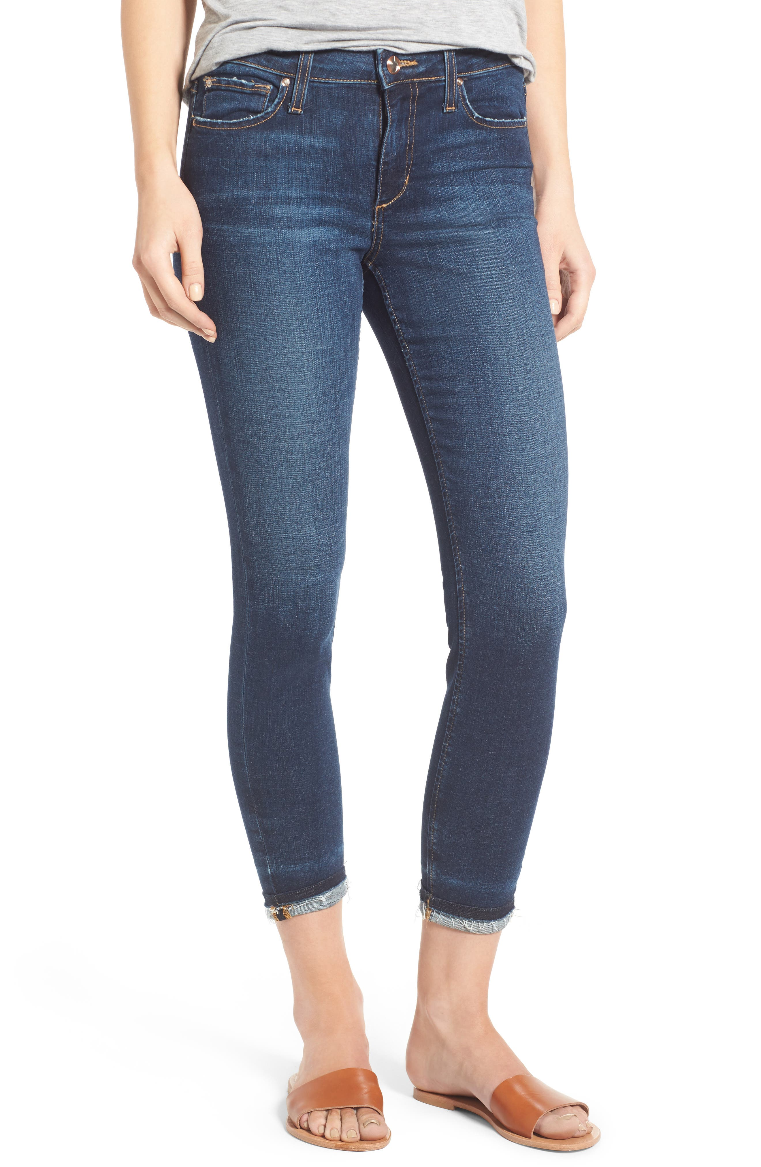 Markie High Rise Crop Skinny Jeans,                             Main thumbnail 1, color,