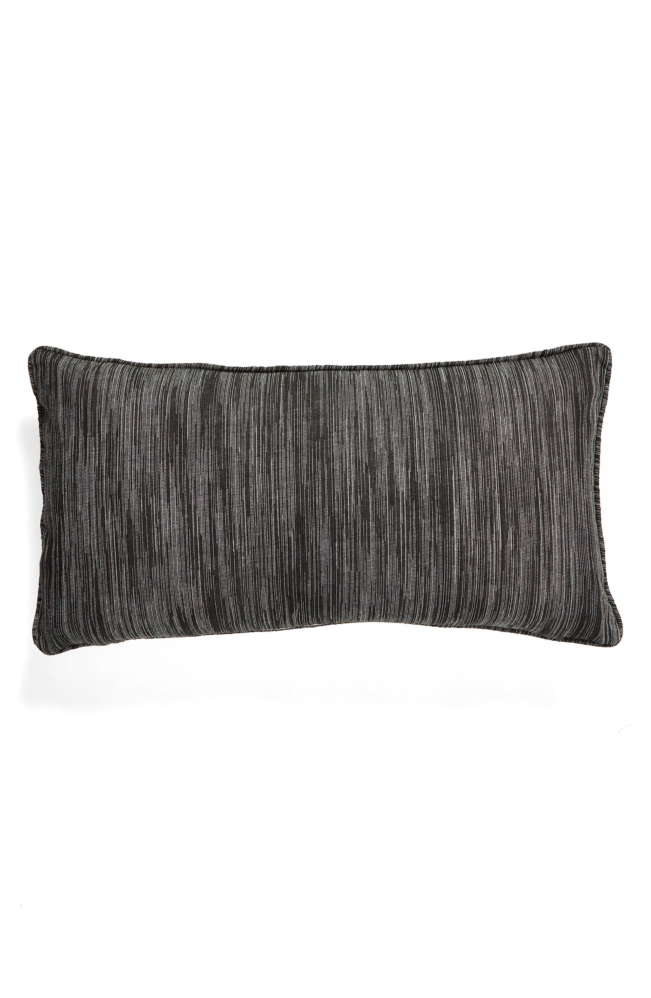 Quincy Pieced Embroidered Accent Pillow,                             Alternate thumbnail 2, color,                             GREY MULTI