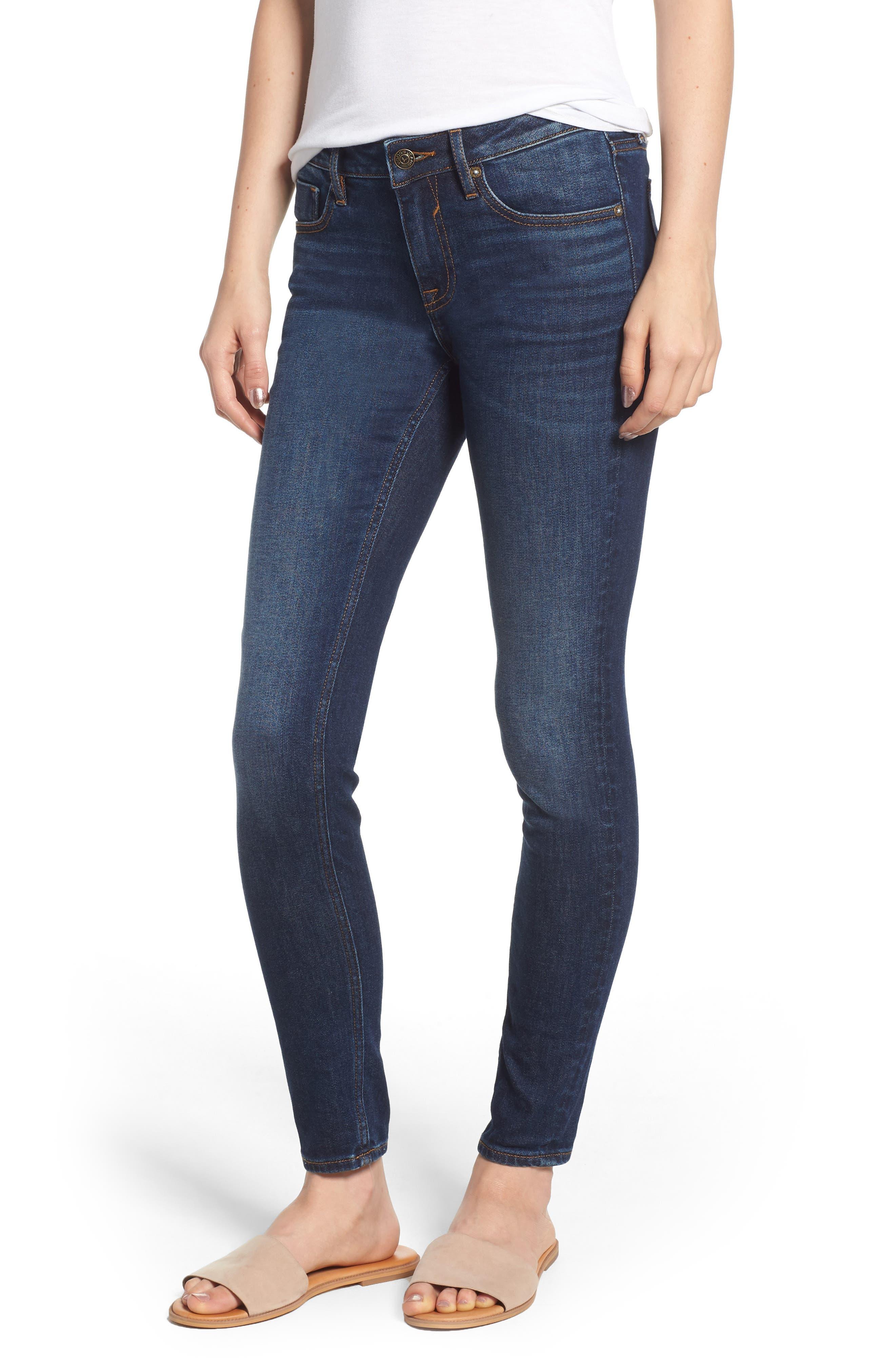 Jagger Skinny Jeans,                         Main,                         color, DARK WASH