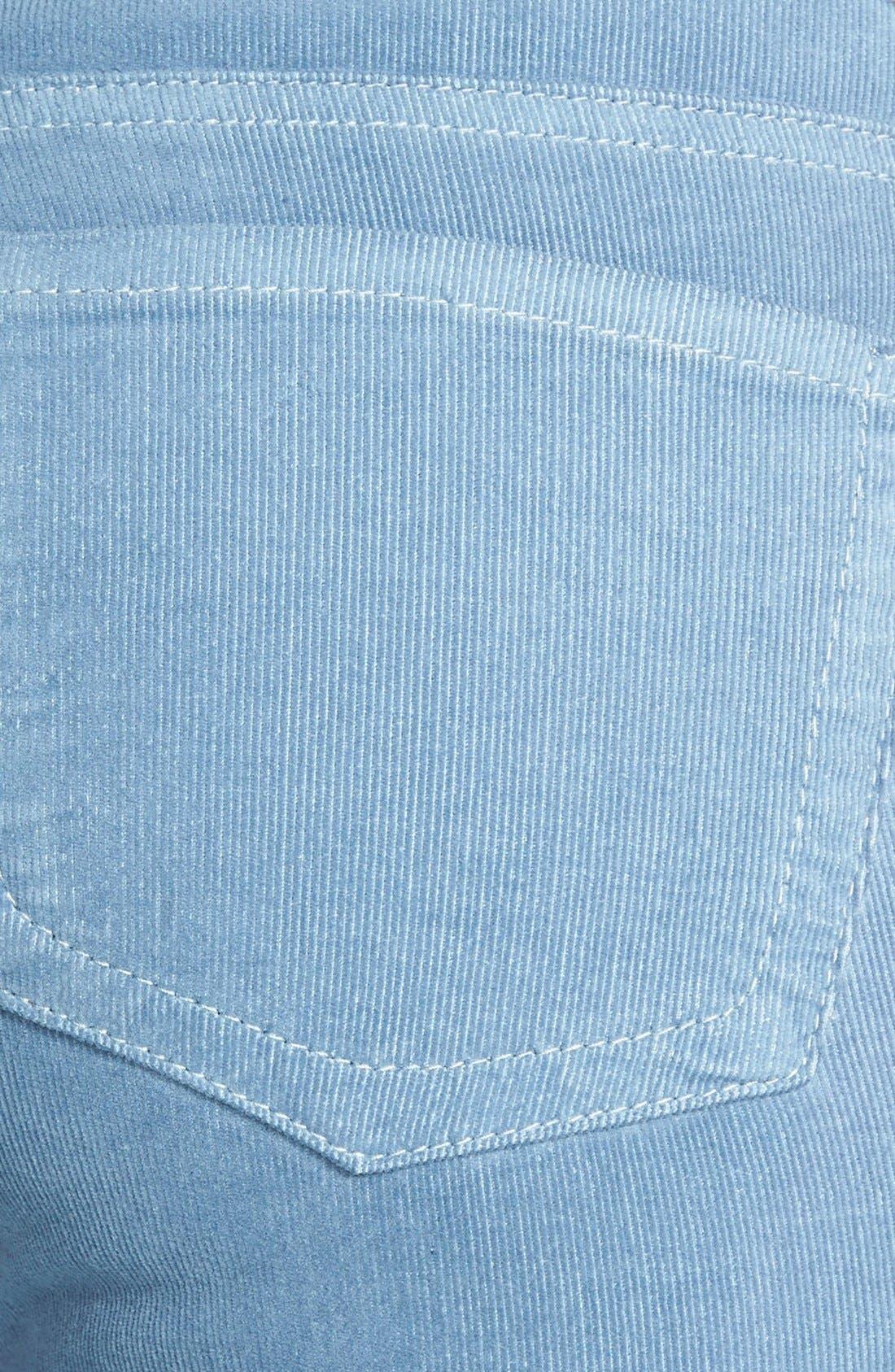 'Diana' Stretch Corduroy Skinny Pants,                             Alternate thumbnail 189, color,