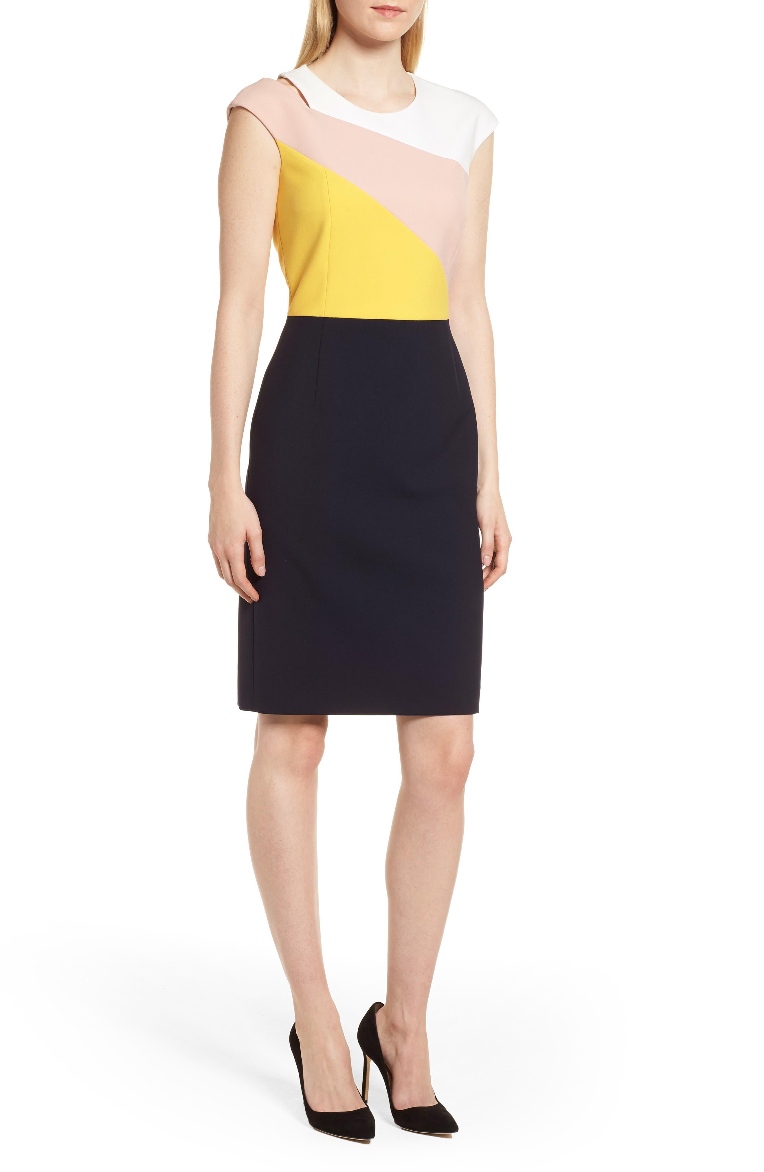 Danouk Ponte Dress,                         Main,                         color,