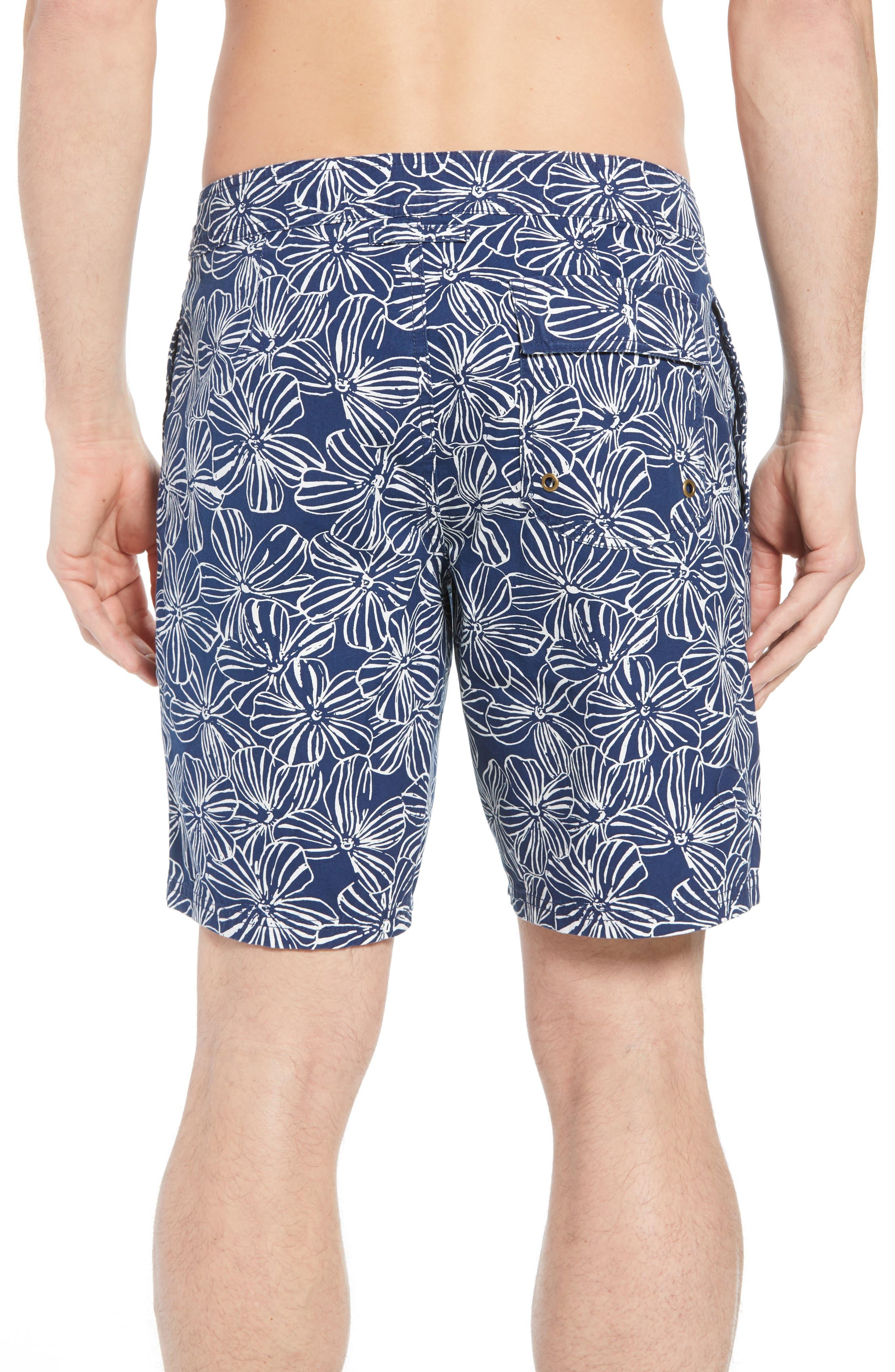 Mala Melia Regular Fit Board Shorts,                             Alternate thumbnail 2, color,                             BLUE