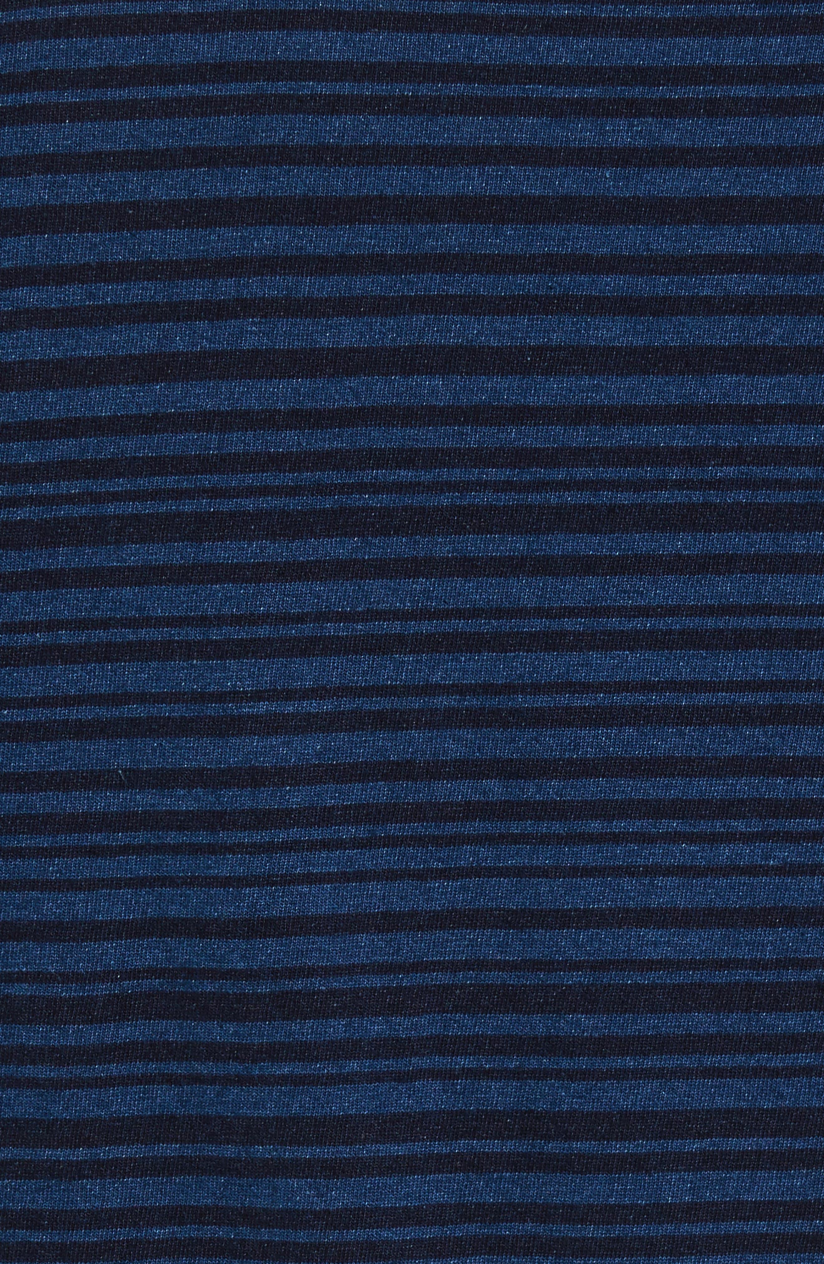 Stripe Pocket T-Shirt,                             Alternate thumbnail 5, color,                             400