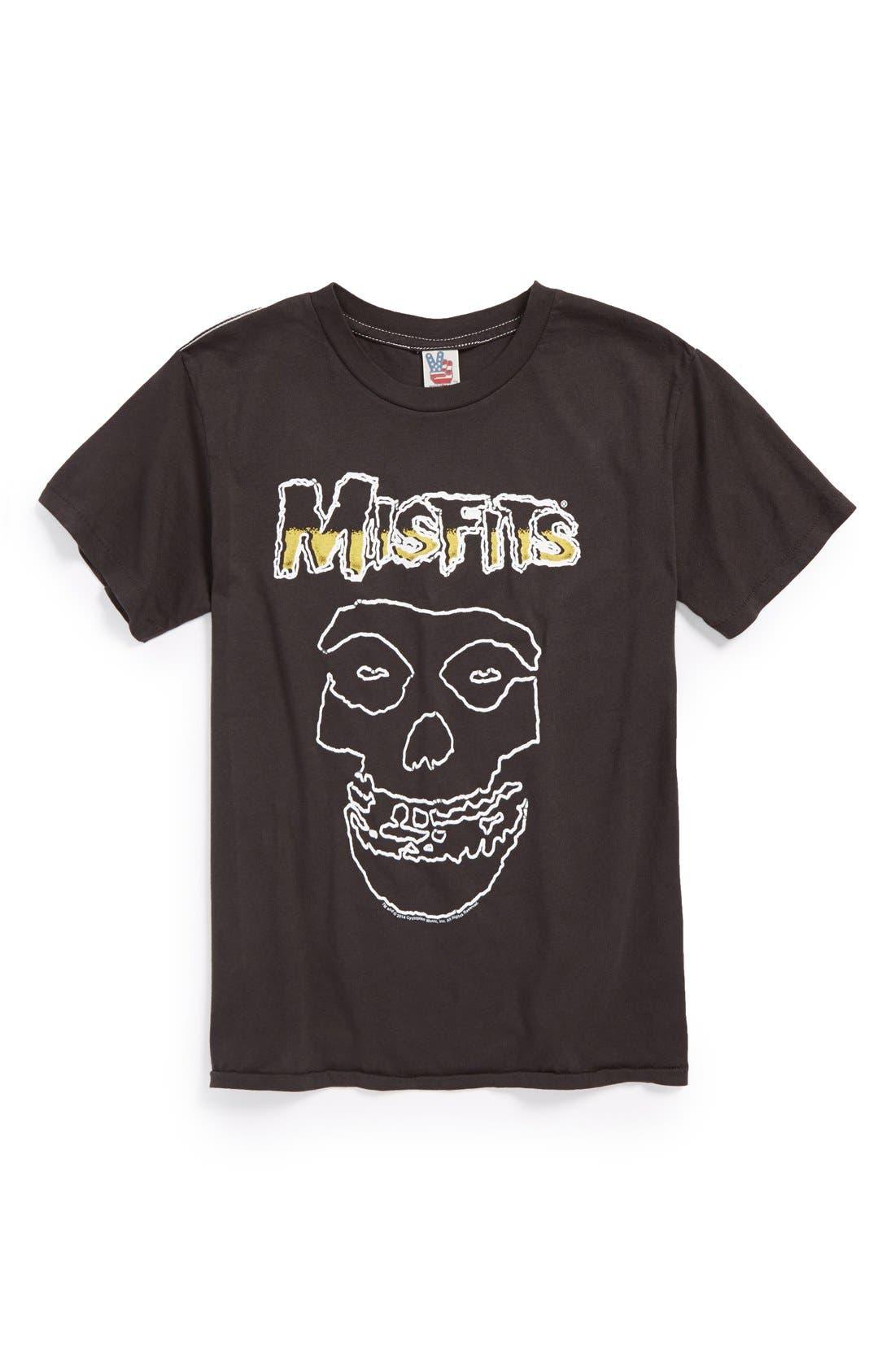 'Misfits' T-Shirt,                             Main thumbnail 1, color,                             004