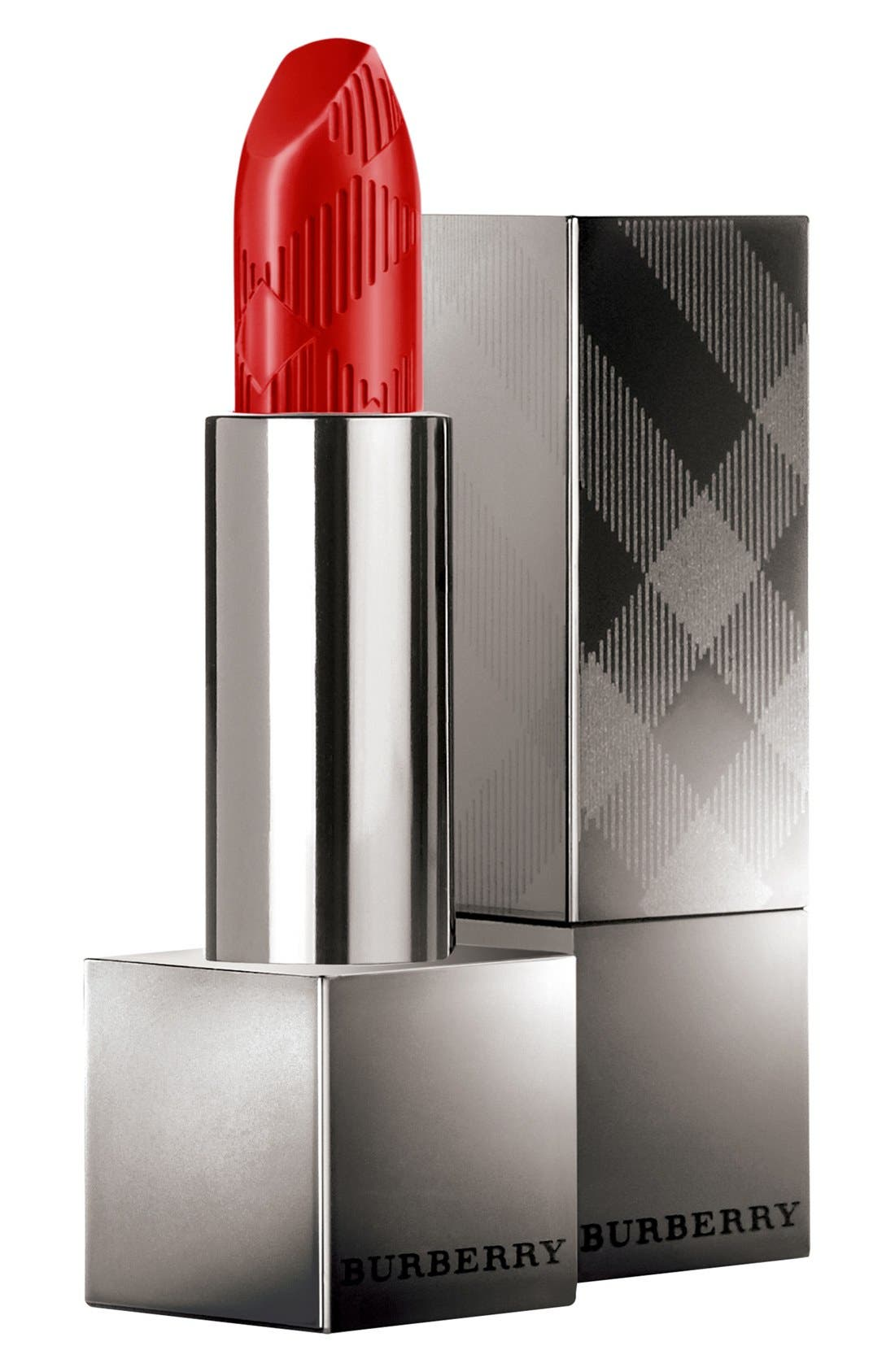 Burberry Kisses Lipstick,                             Main thumbnail 1, color,                             NO. 109 MILITARY RED