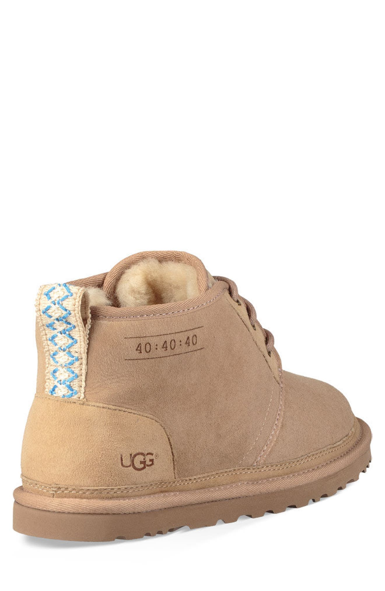 Neumel 40:40:40 Anniversary Genuine Shearling Boot,                             Alternate thumbnail 2, color,                             SAND