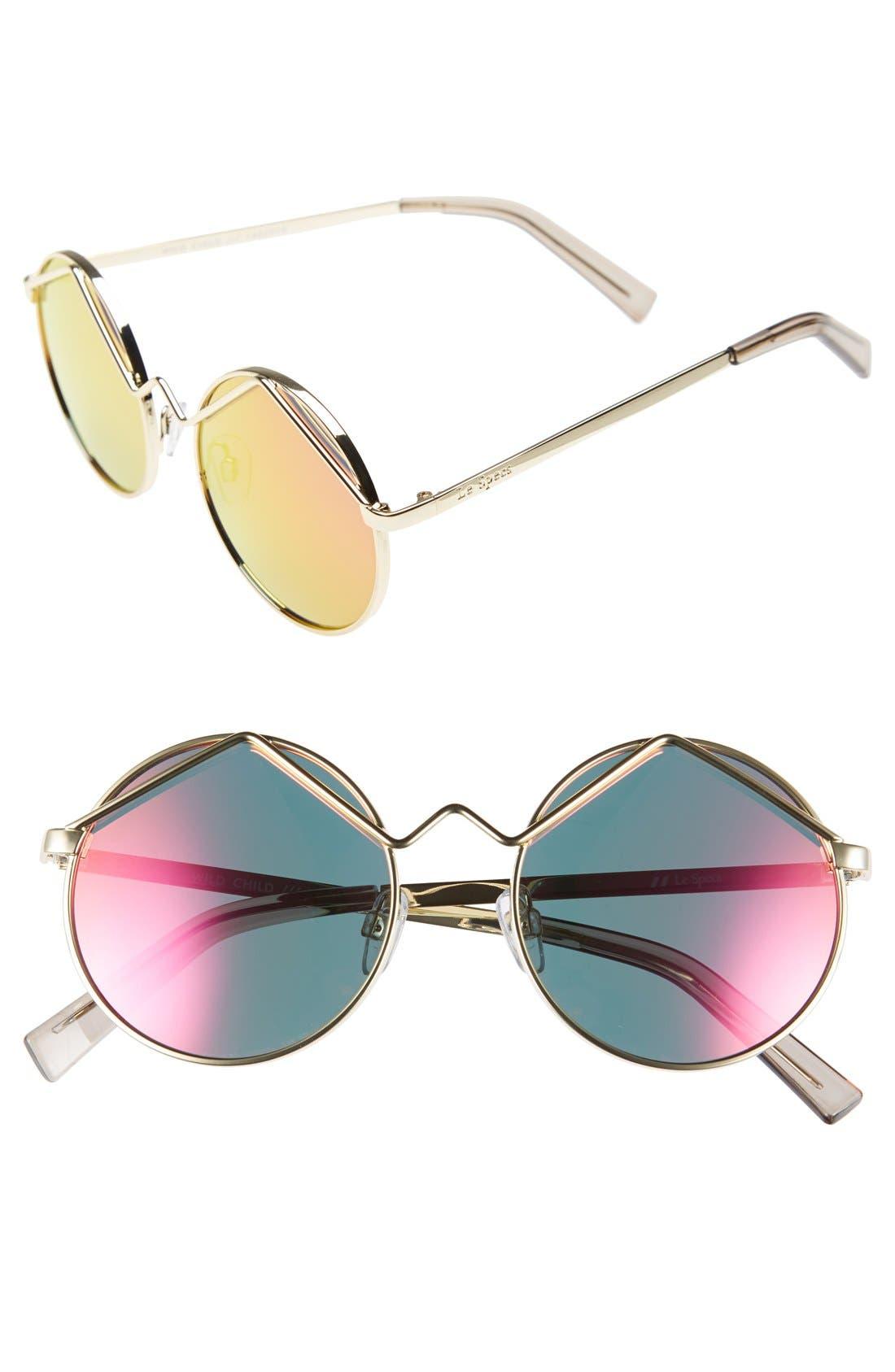 'Wild Child' 52mm Sunglasses, Main, color, 710