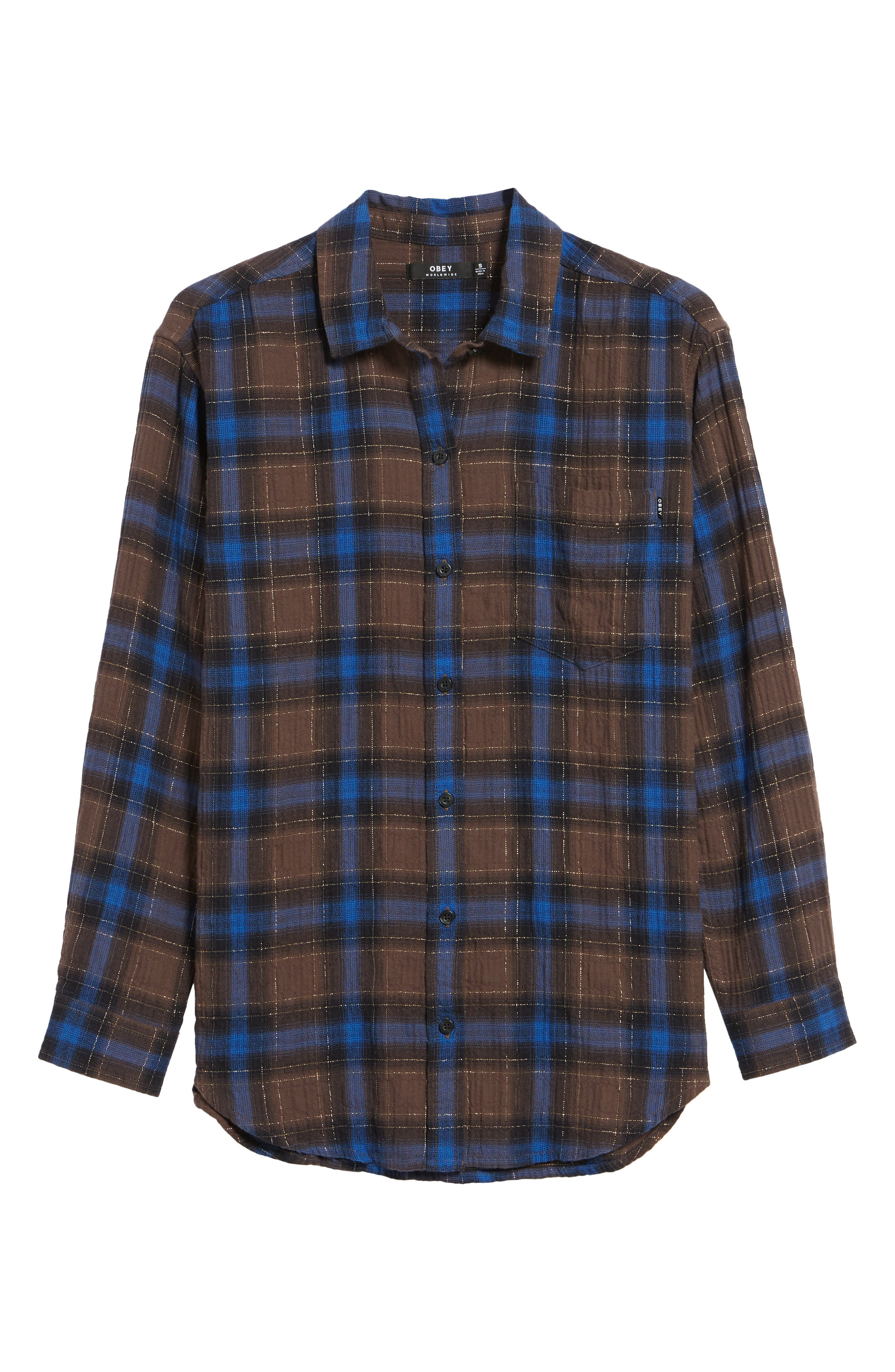 Eldorado Plaid Shirt,                             Alternate thumbnail 6, color,