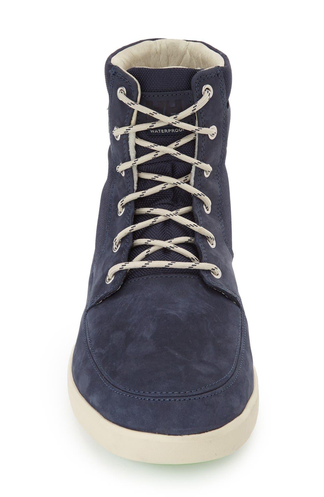 'Stockholm' Waterproof High Top Sneaker,                             Alternate thumbnail 3, color,                             489