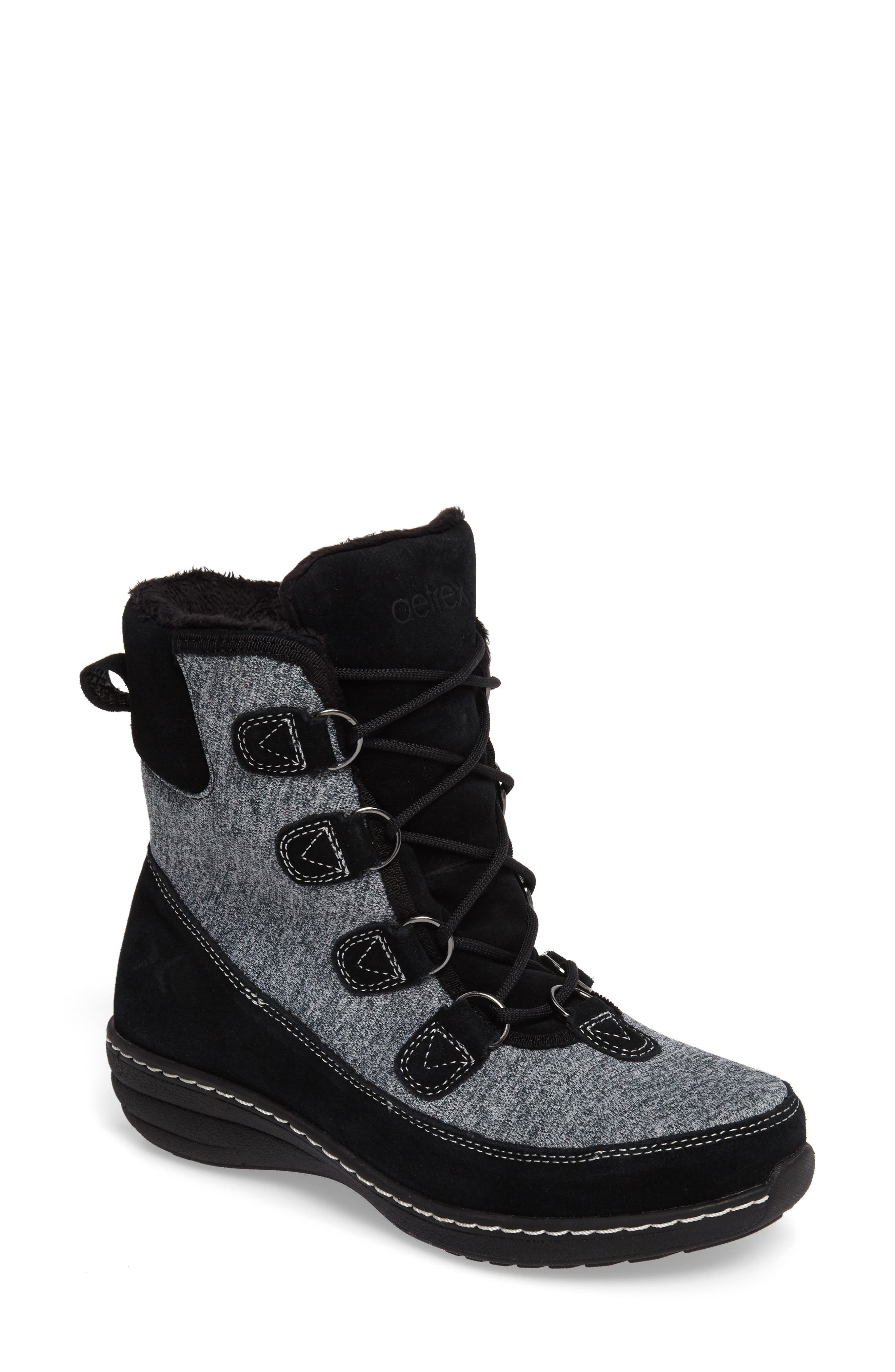 Berries Water Resistant Boot,                             Main thumbnail 1, color,                             MULTIBERRY SUEDE