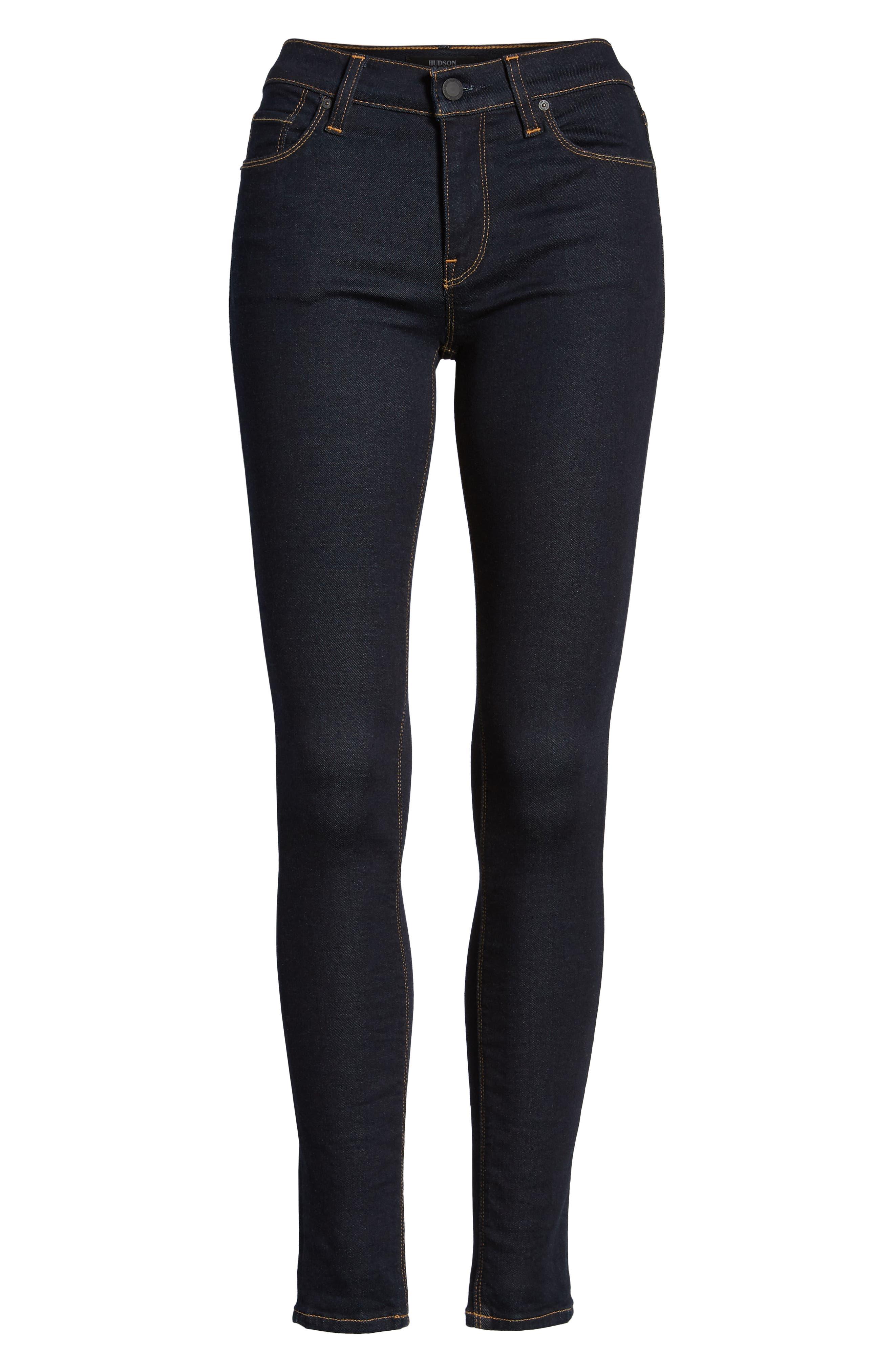 Nico Super Skinny Jeans,                             Alternate thumbnail 7, color,                             SUNSET BLVD