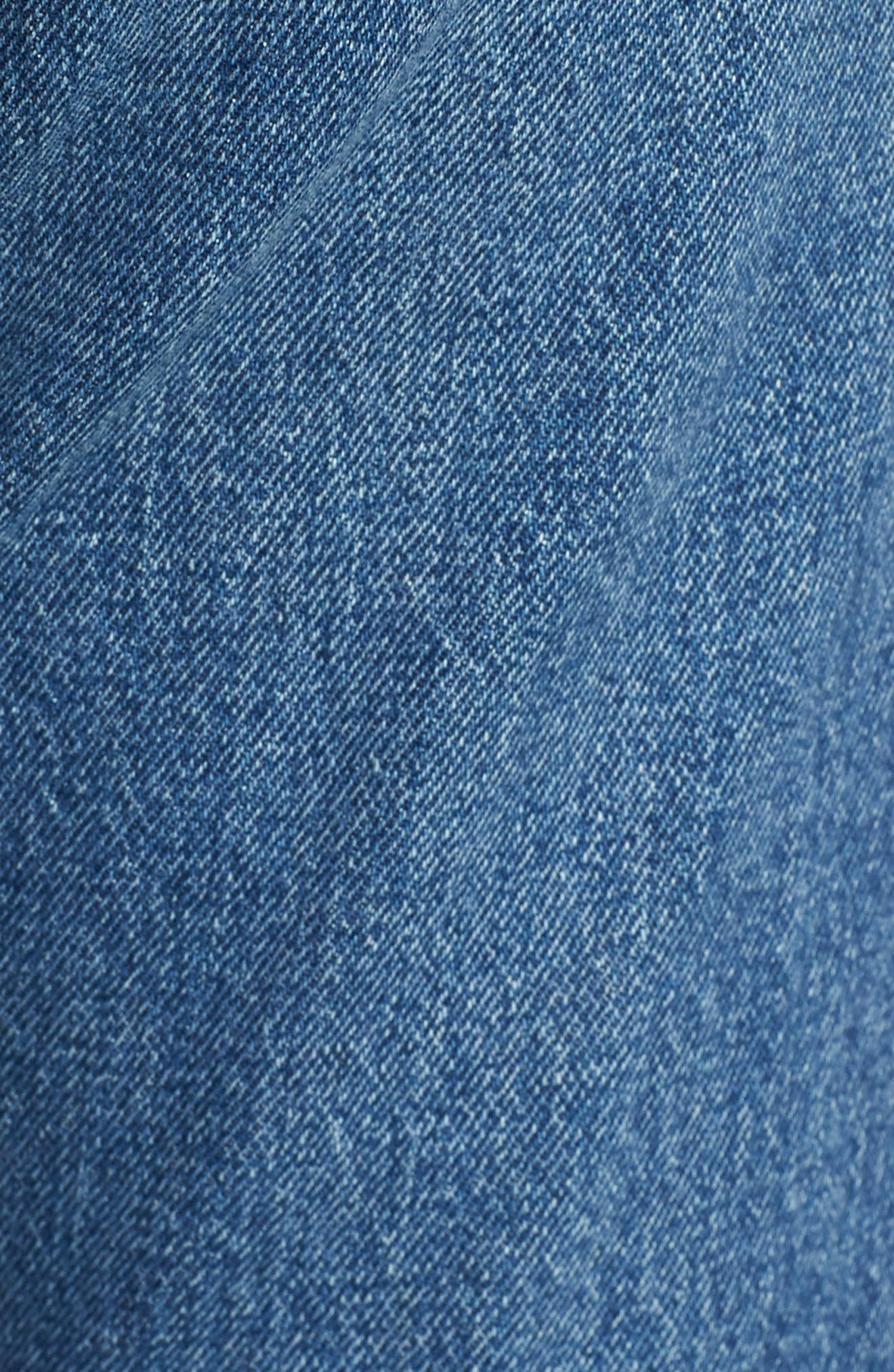 501<sup>™</sup> High Waist Skinny Jeans,                             Alternate thumbnail 5, color,                             WE THE PEOPLE