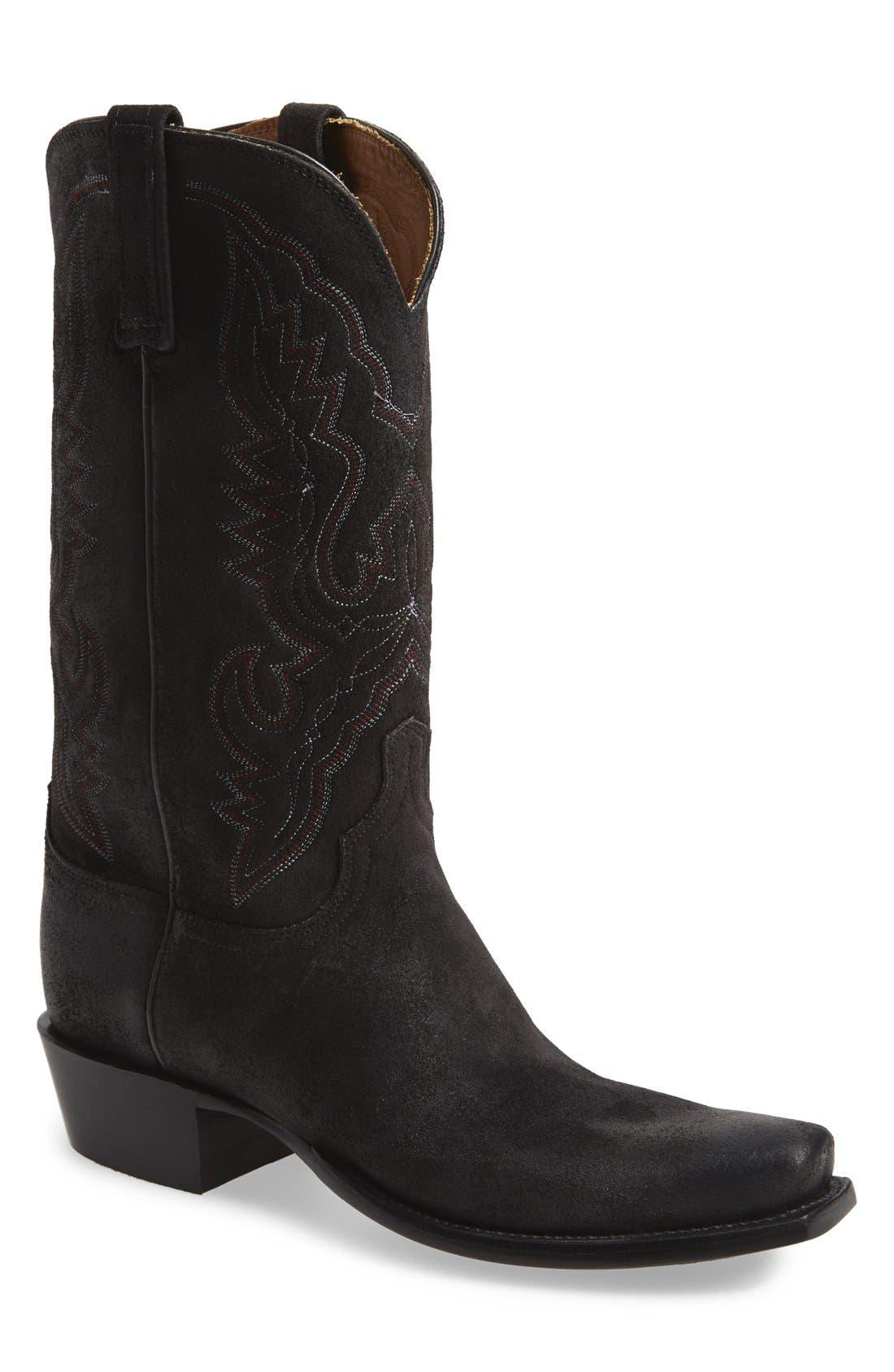 'Austin' Western Boot,                             Main thumbnail 1, color,                             002