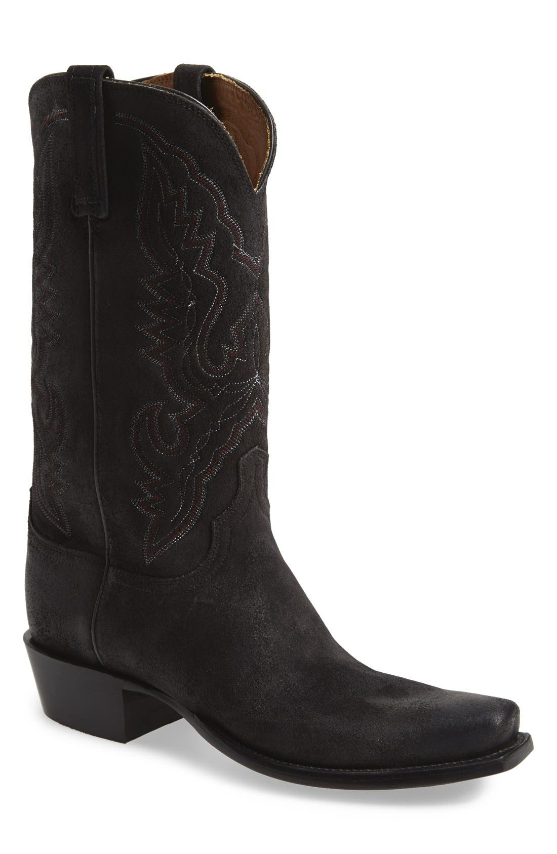 'Austin' Western Boot, Main, color, 002