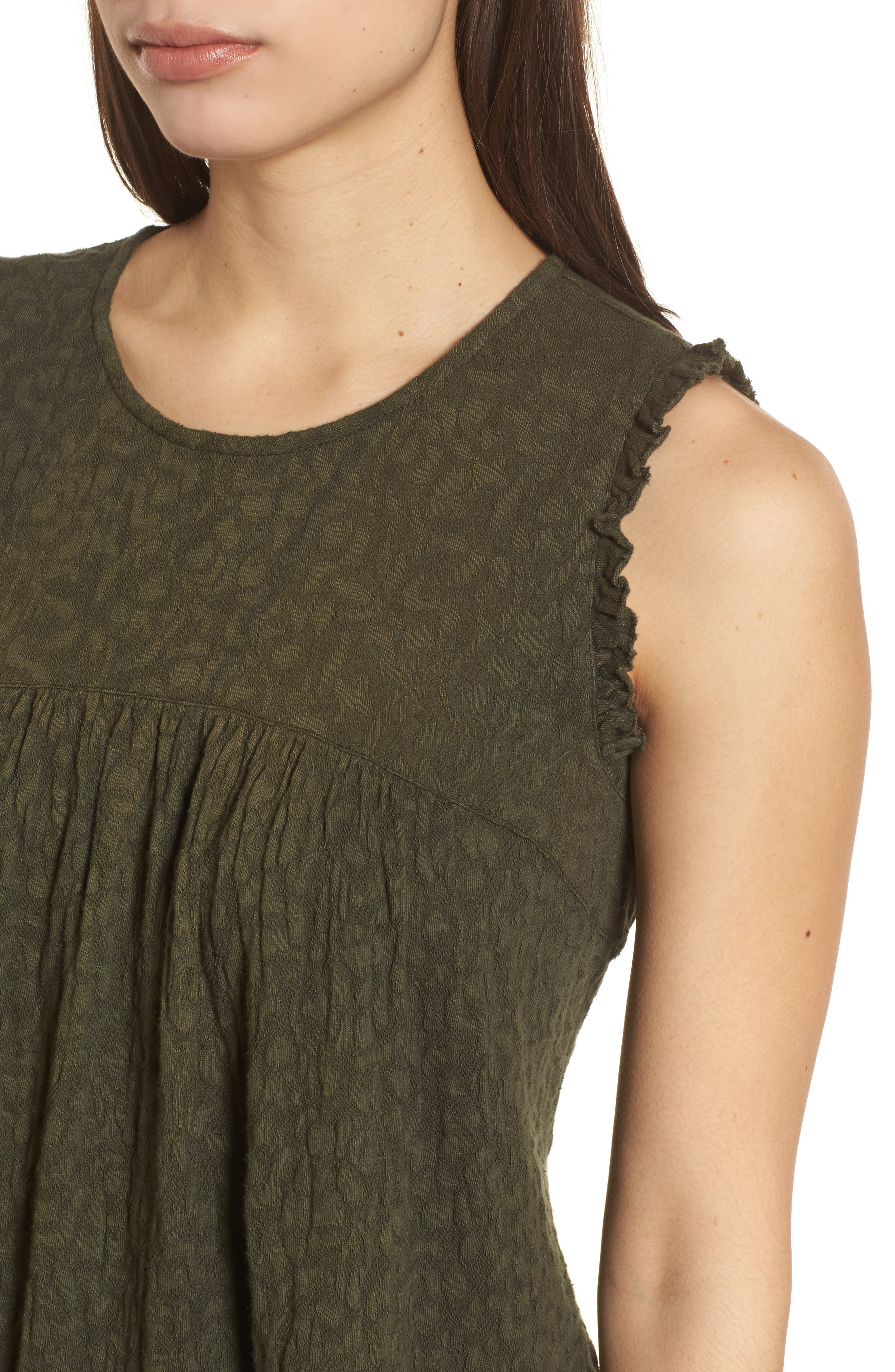 Jacquard Tank,                             Alternate thumbnail 4, color,                             305