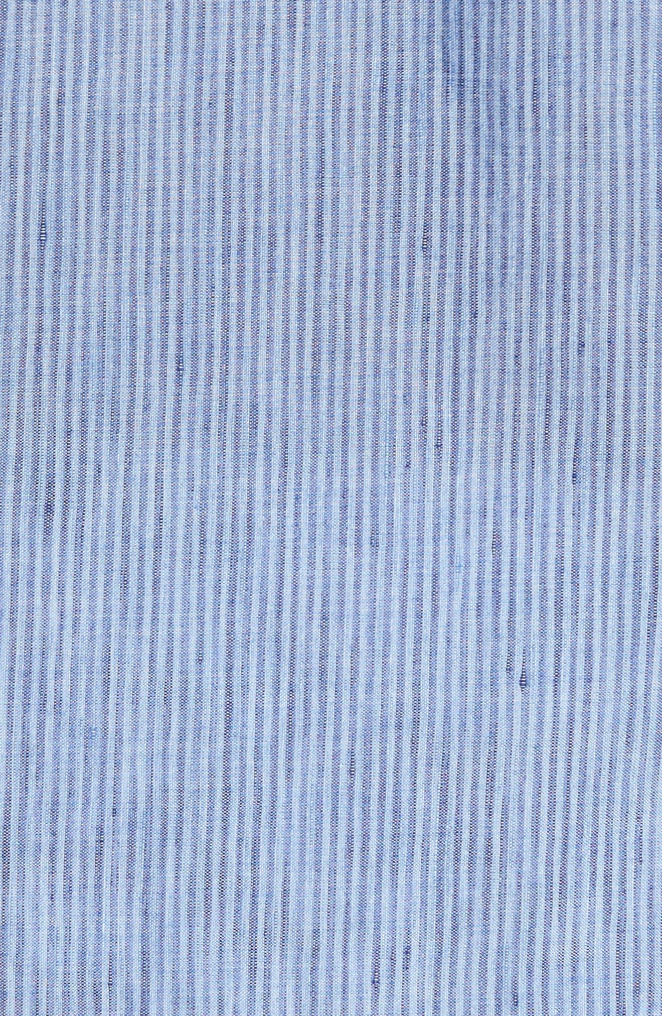 Stripe Sport Shirt,                             Alternate thumbnail 5, color,                             451