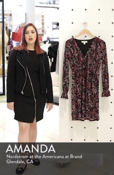 Shirred Ruffle Sleeve Dress, sales video thumbnail