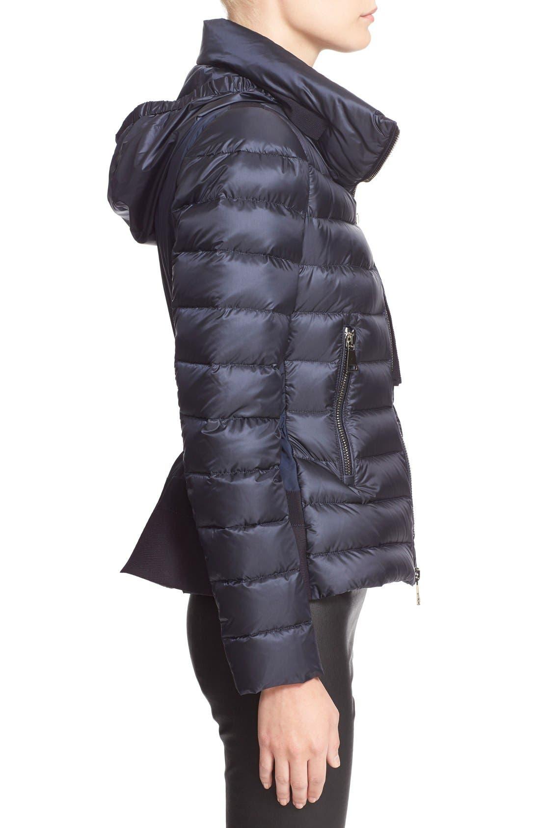 'Agape' Water Resistant Hooded Down Jacket,                             Alternate thumbnail 5, color,                             419