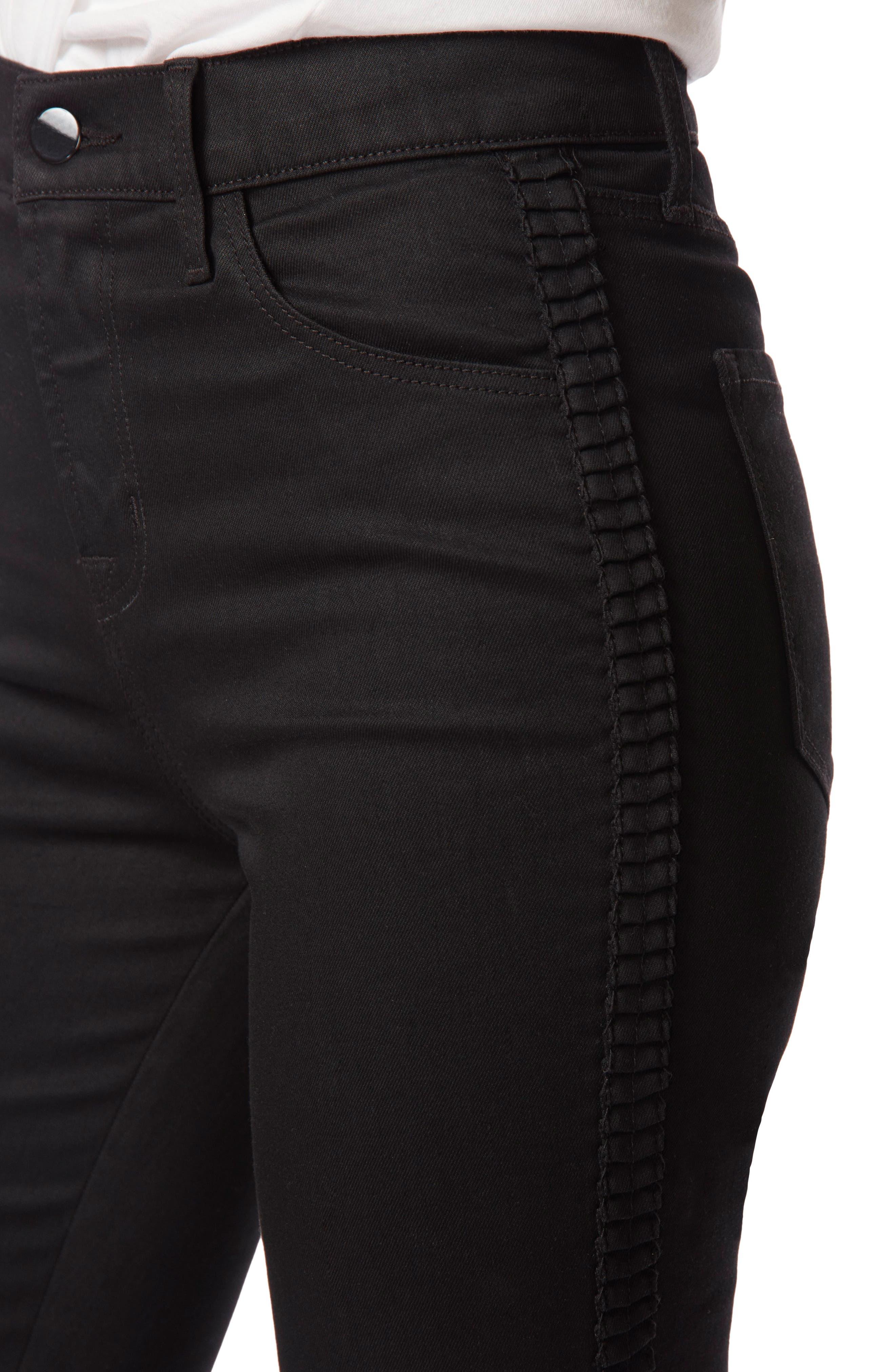 Maria High Waist Skinny Jeans,                             Alternate thumbnail 4, color,                             009