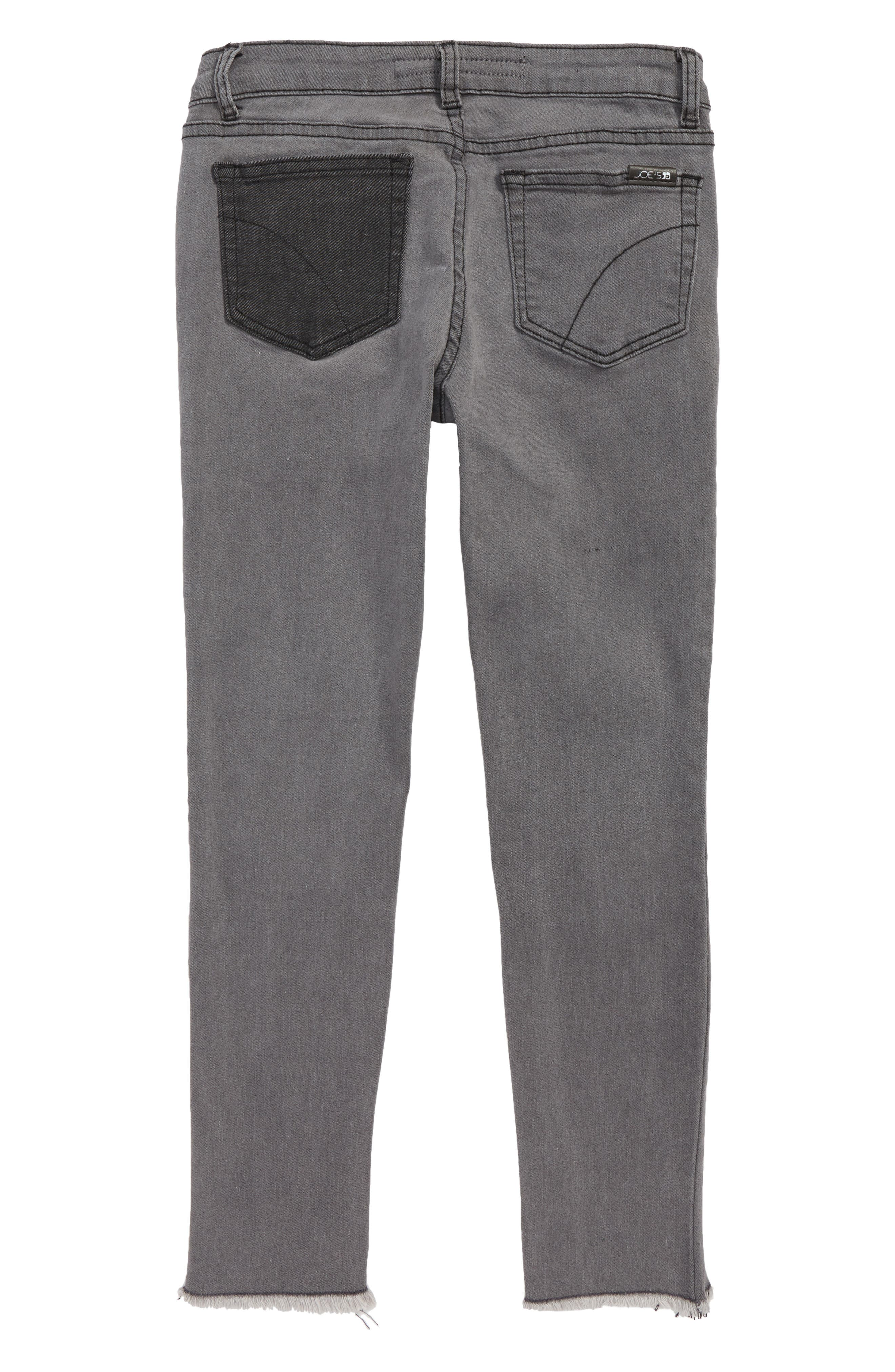 The Markie Distressed Ankle Skinny Jeans,                             Alternate thumbnail 2, color,                             ASH